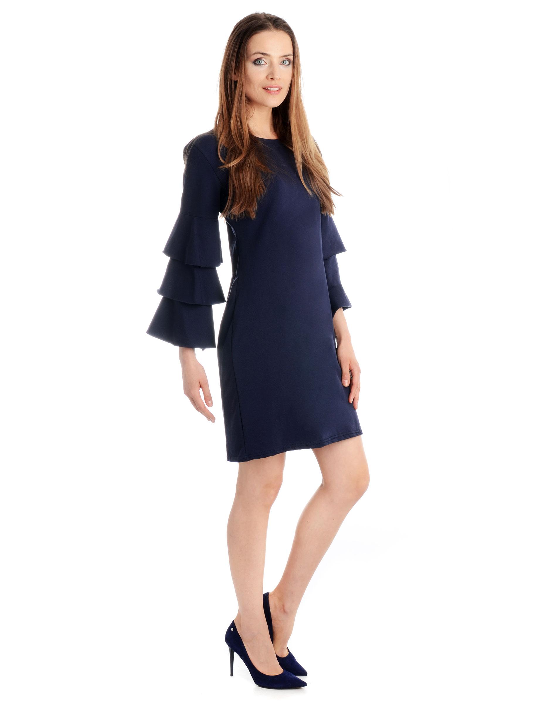 Sukienka - 18-17023 BLSC - Unisono