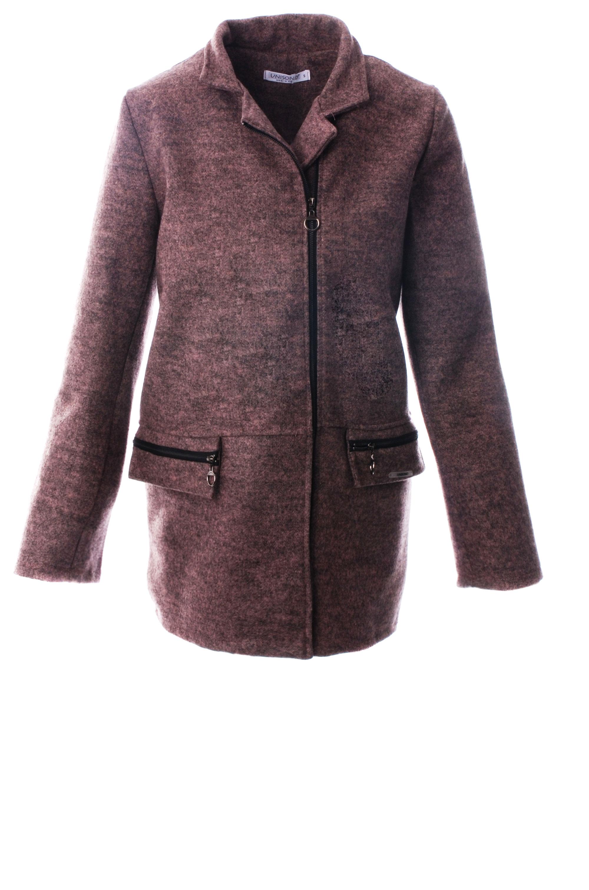 Płaszcz materiałowy - 34-3725 ROSA - Unisono
