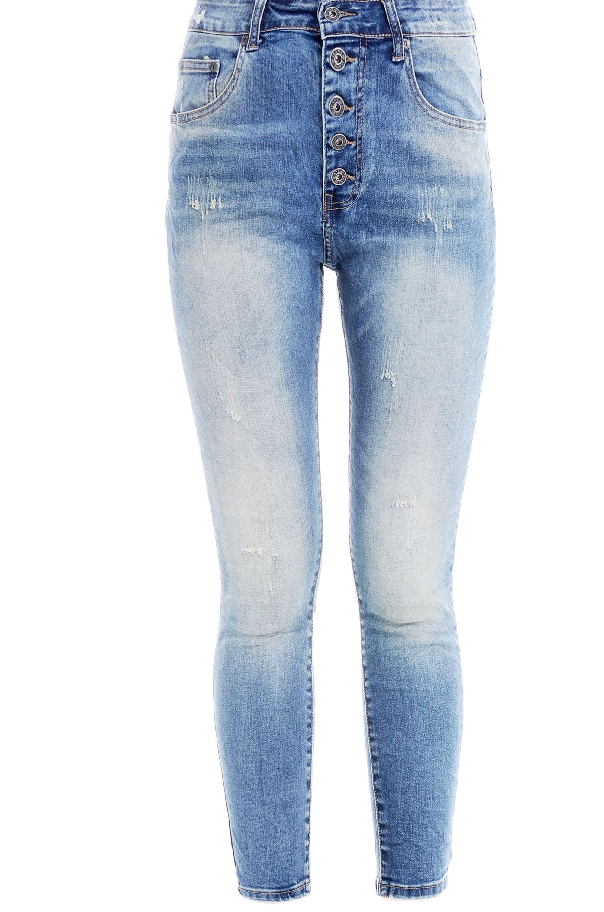 Spodnie - 95-330B JEANS - Unisono