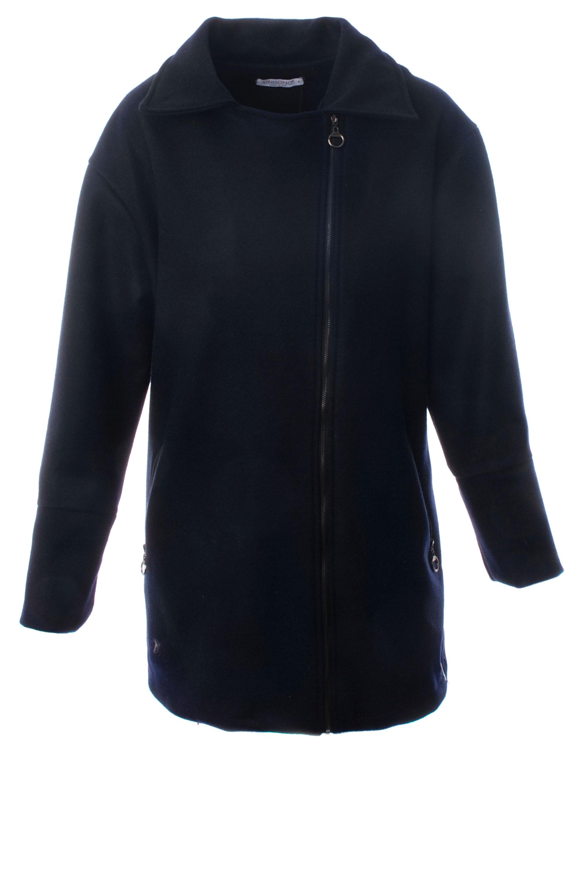 Płaszcz materiałowy - 34-3727 BL SC - Unisono