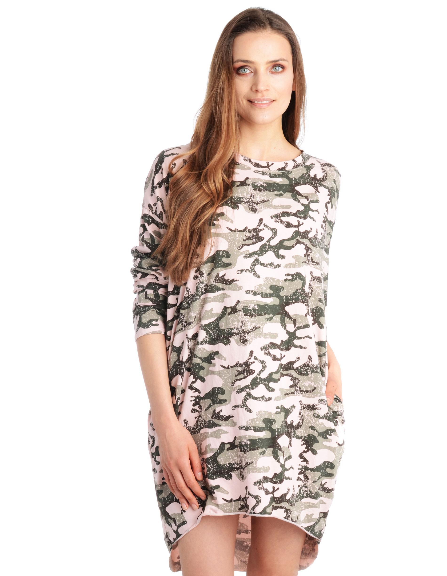 Sukienka - 109-6196C ROS - Unisono