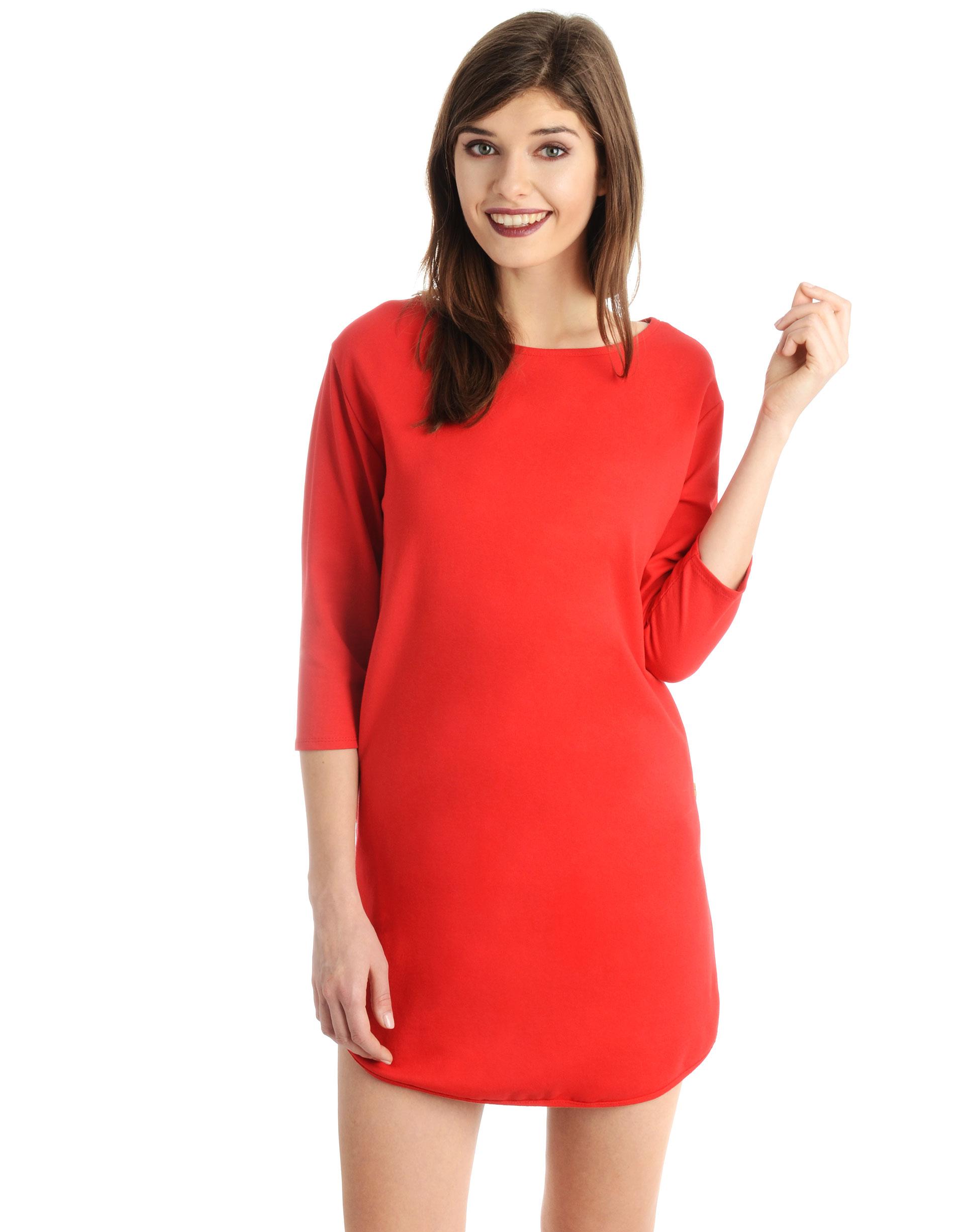 Sukienka - 18-6011U ROSS - Unisono