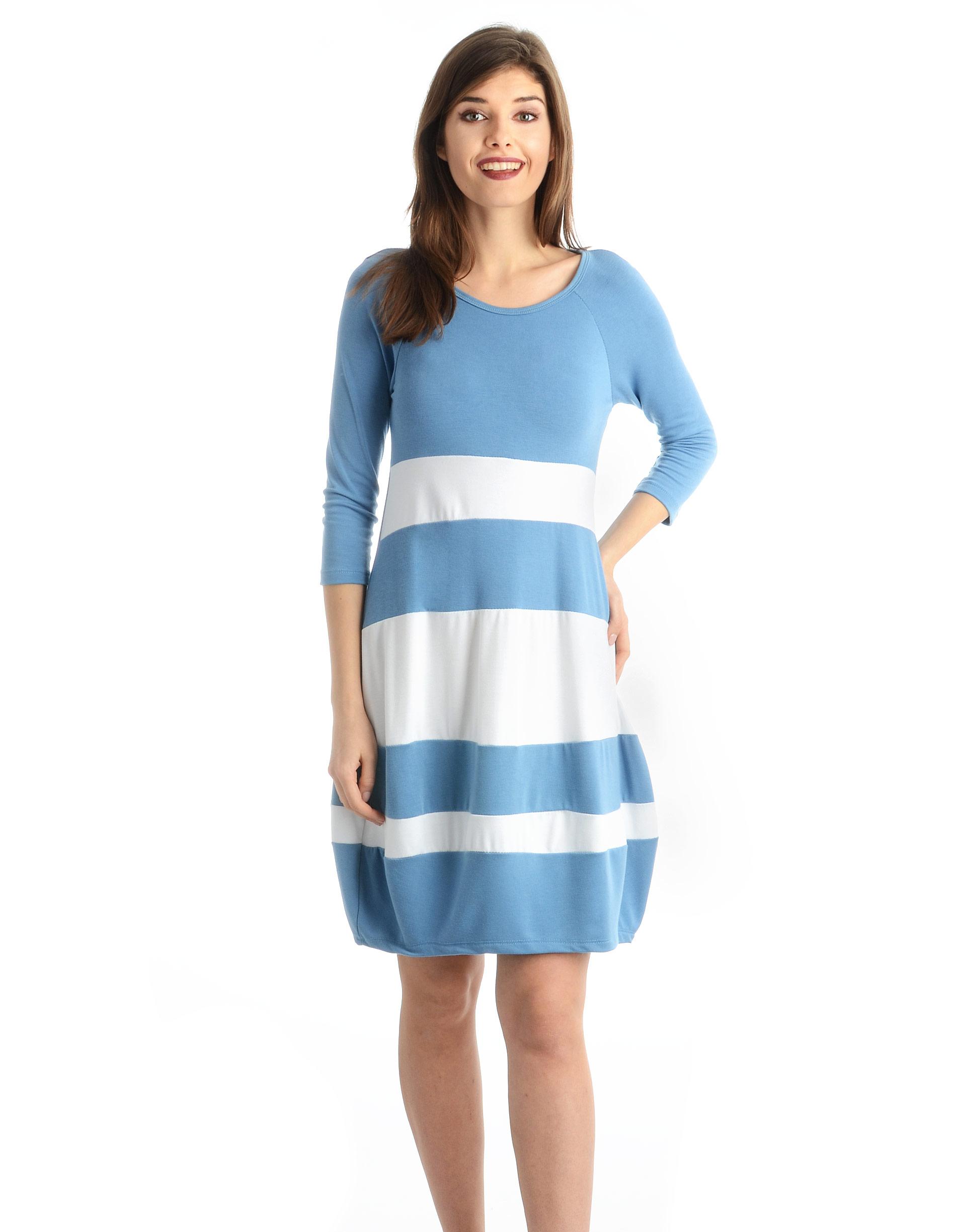 Sukienka - 62-5035 JEANS - Unisono