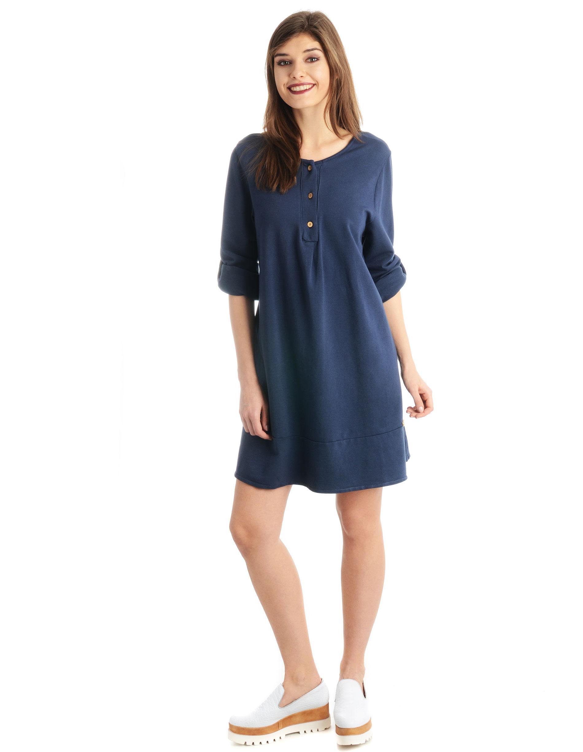 Sukienka - 16-3099 BL SC - Unisono