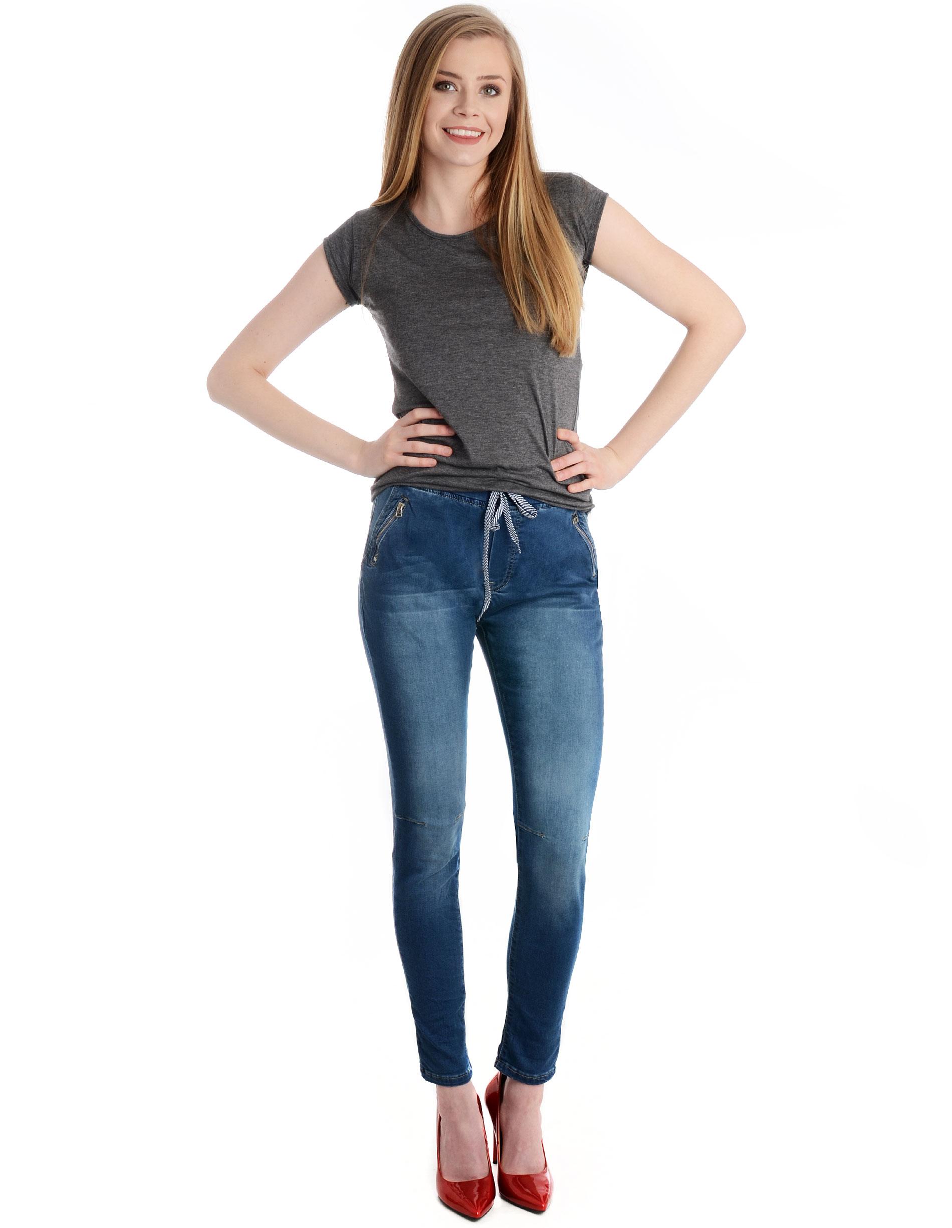 Spodnie - 42-6202 JEANS - Unisono