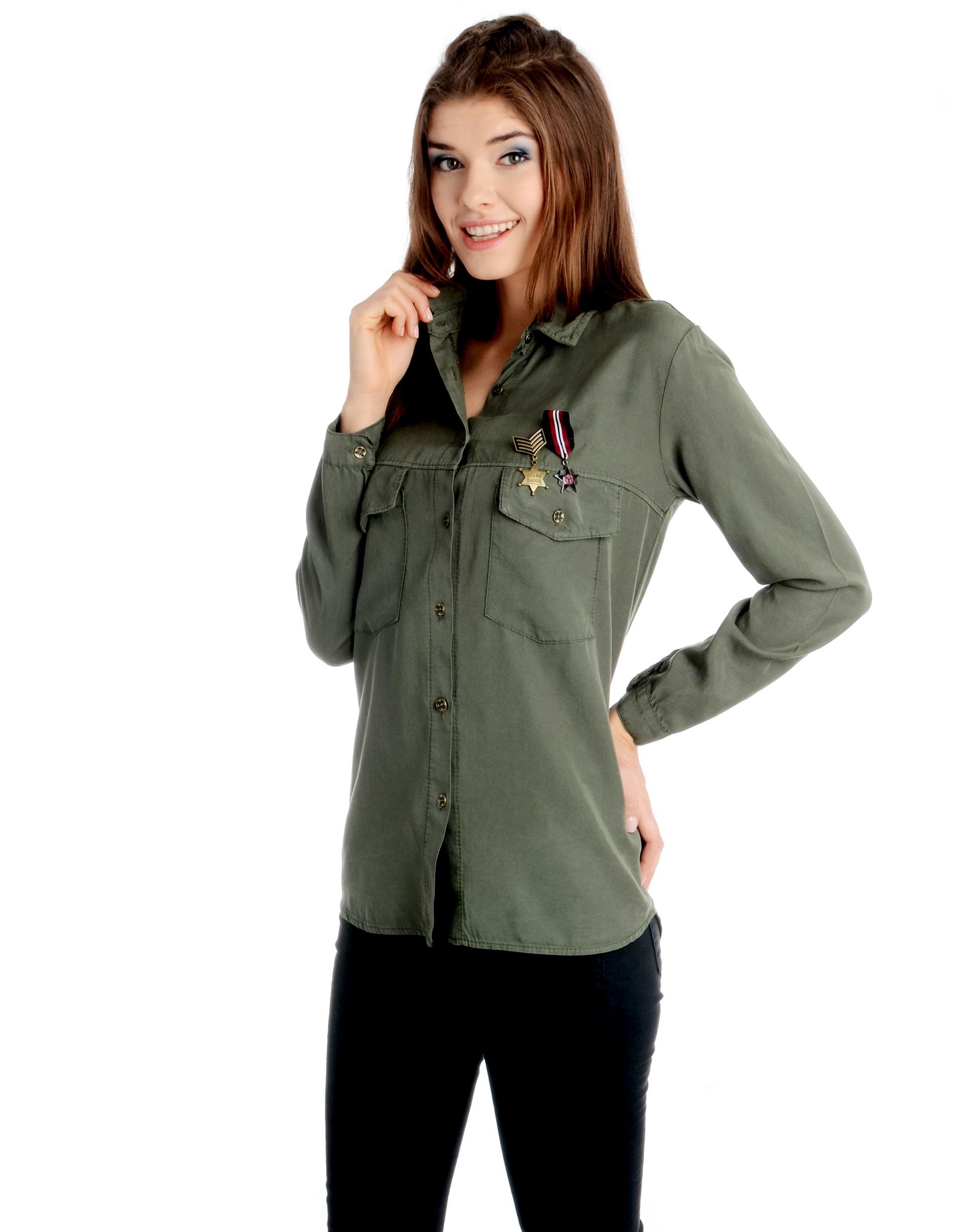 Koszula - 90-7017 MILIT - Unisono
