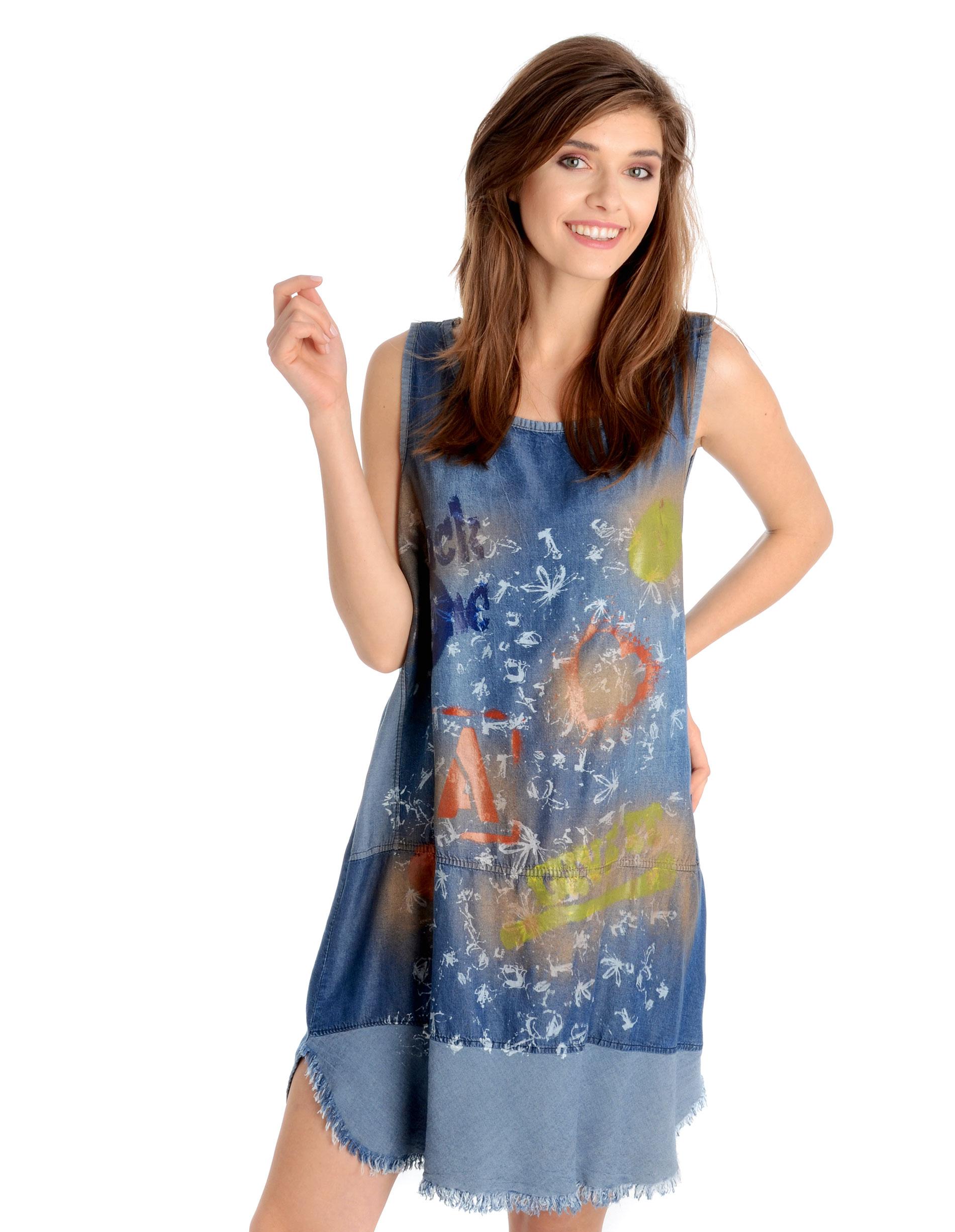 Sukienka - 144-6626 JEAN - Unisono