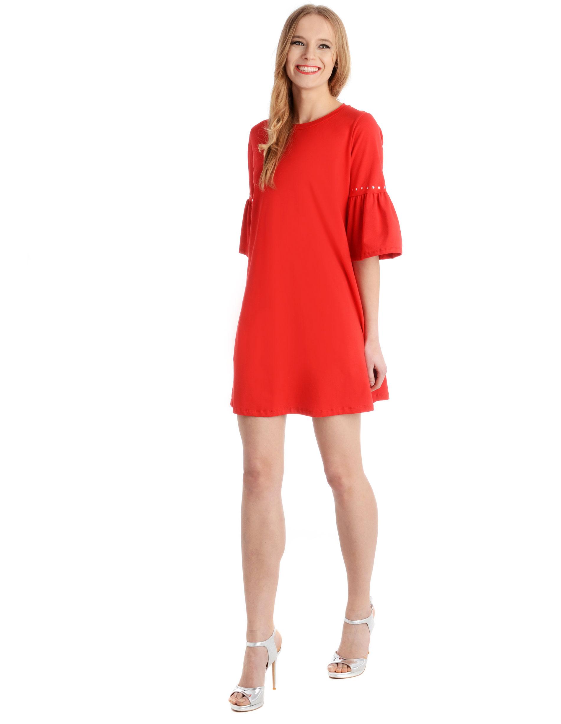 Sukienka - 31-6926 ROSSO - Unisono