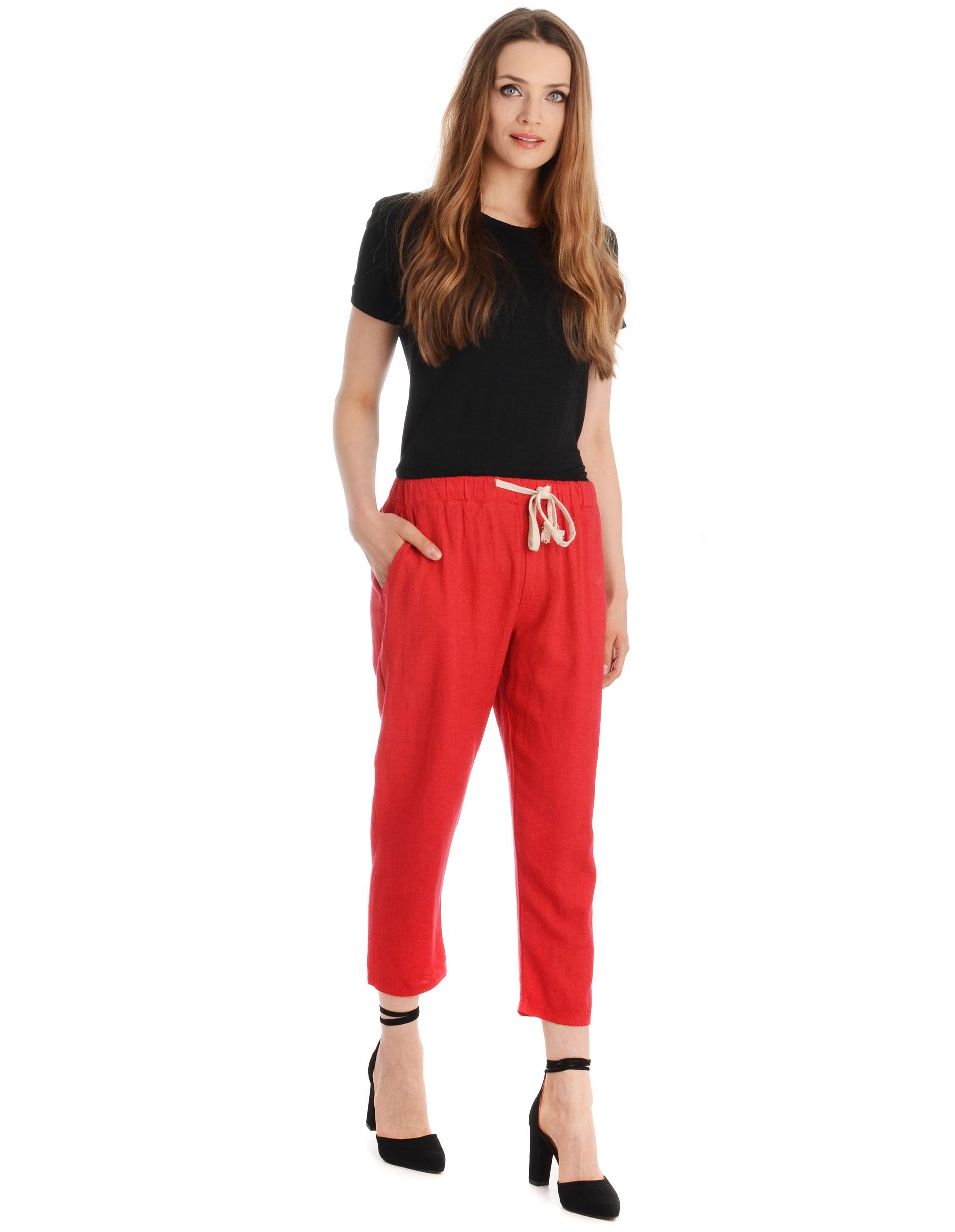 Spodnie - 118-805 ROSSO - Unisono