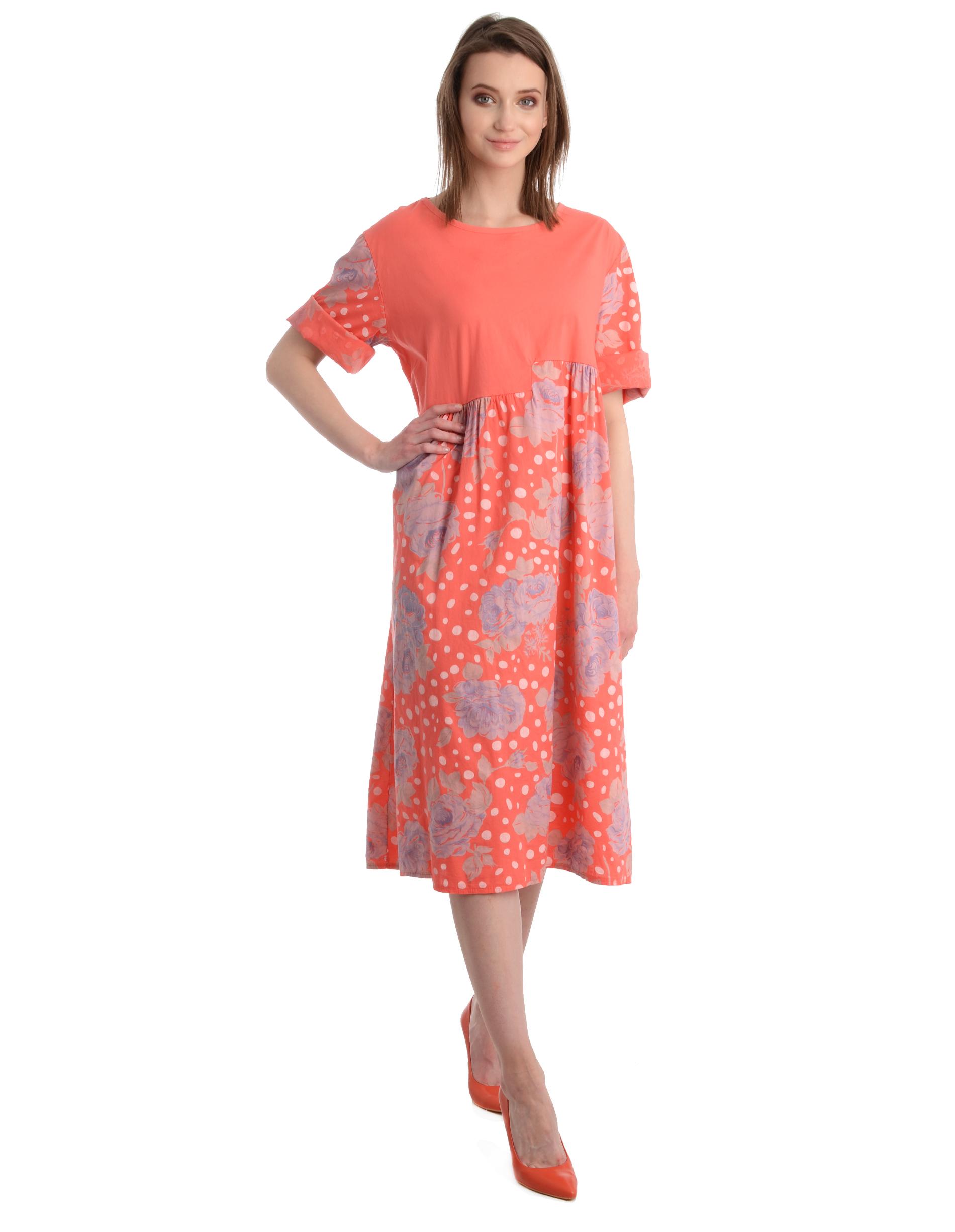 Sukienka - 128-17594 COR - Unisono