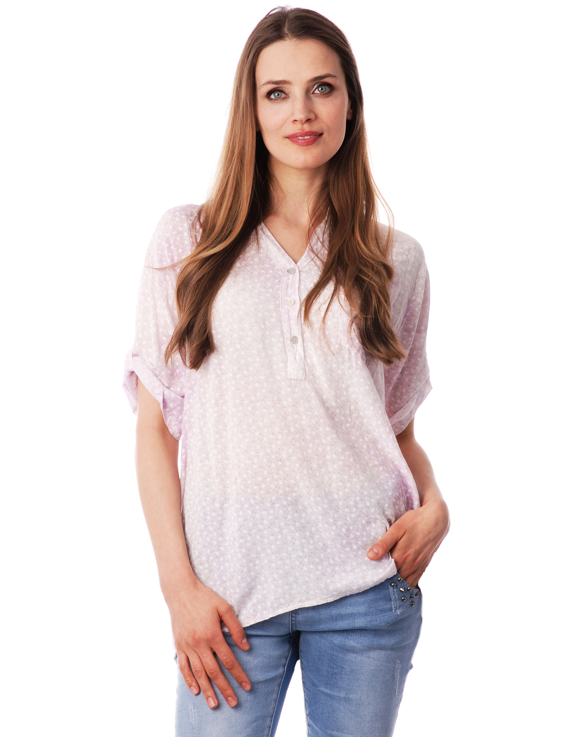 Koszula - 36-6920D ROSA - Unisono