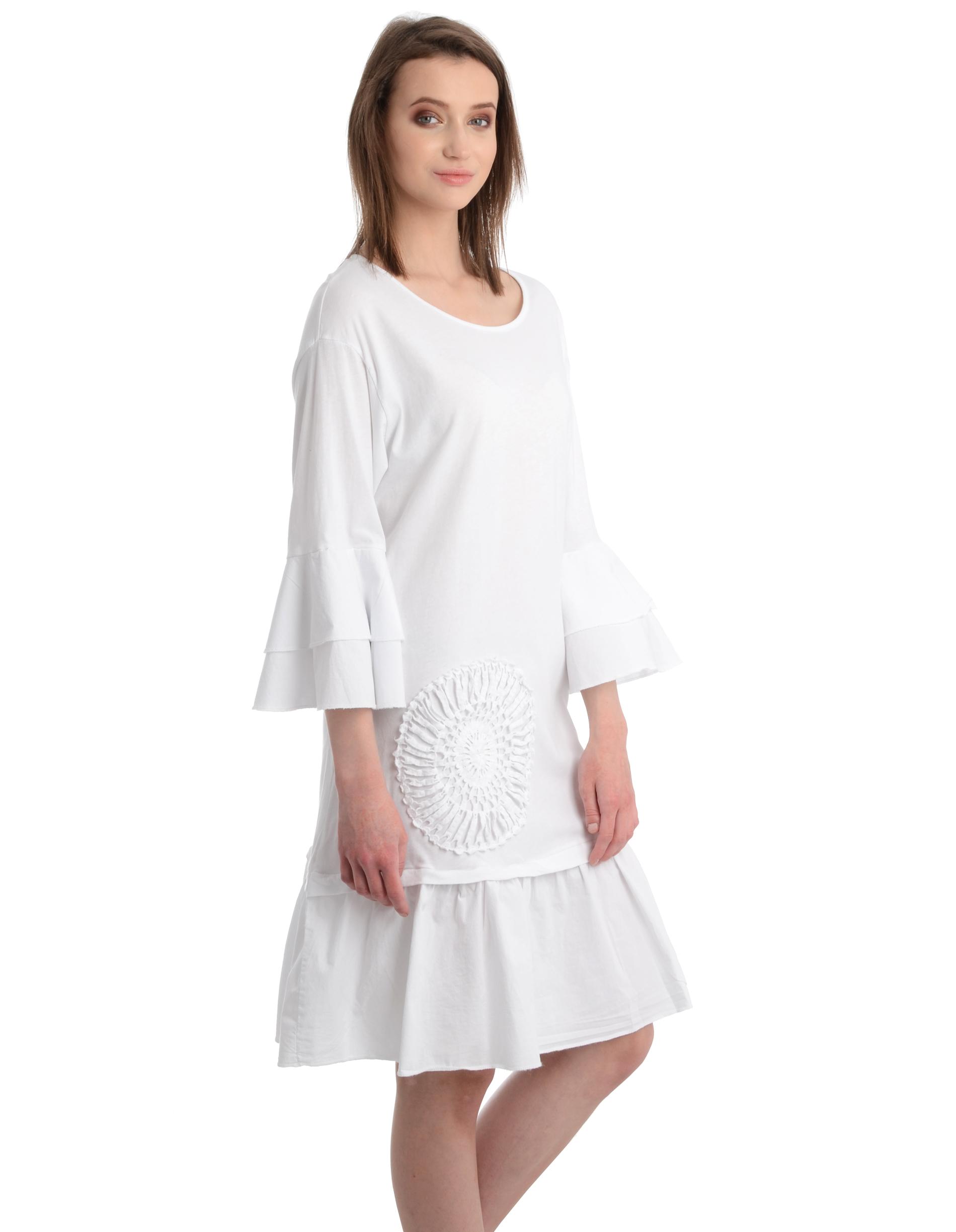 Sukienka - 62-5663 BIANC - Unisono