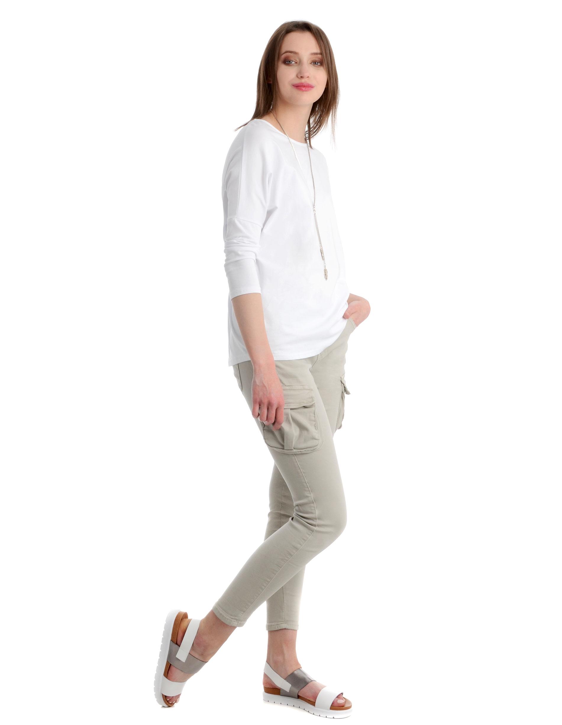 Spodnie - 42-6051 BEIGE - Unisono