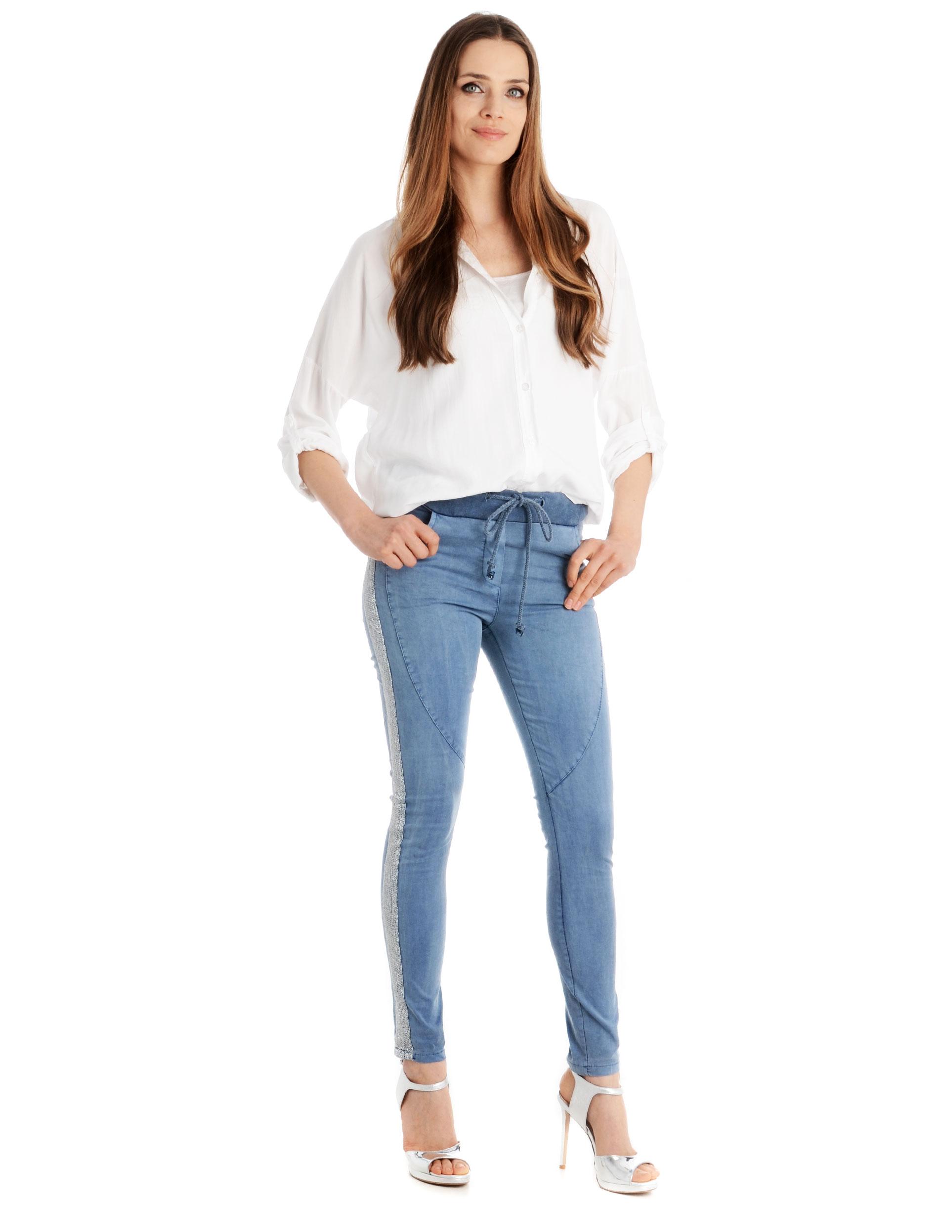 Spodnie - 141-1181 JEAN - Unisono