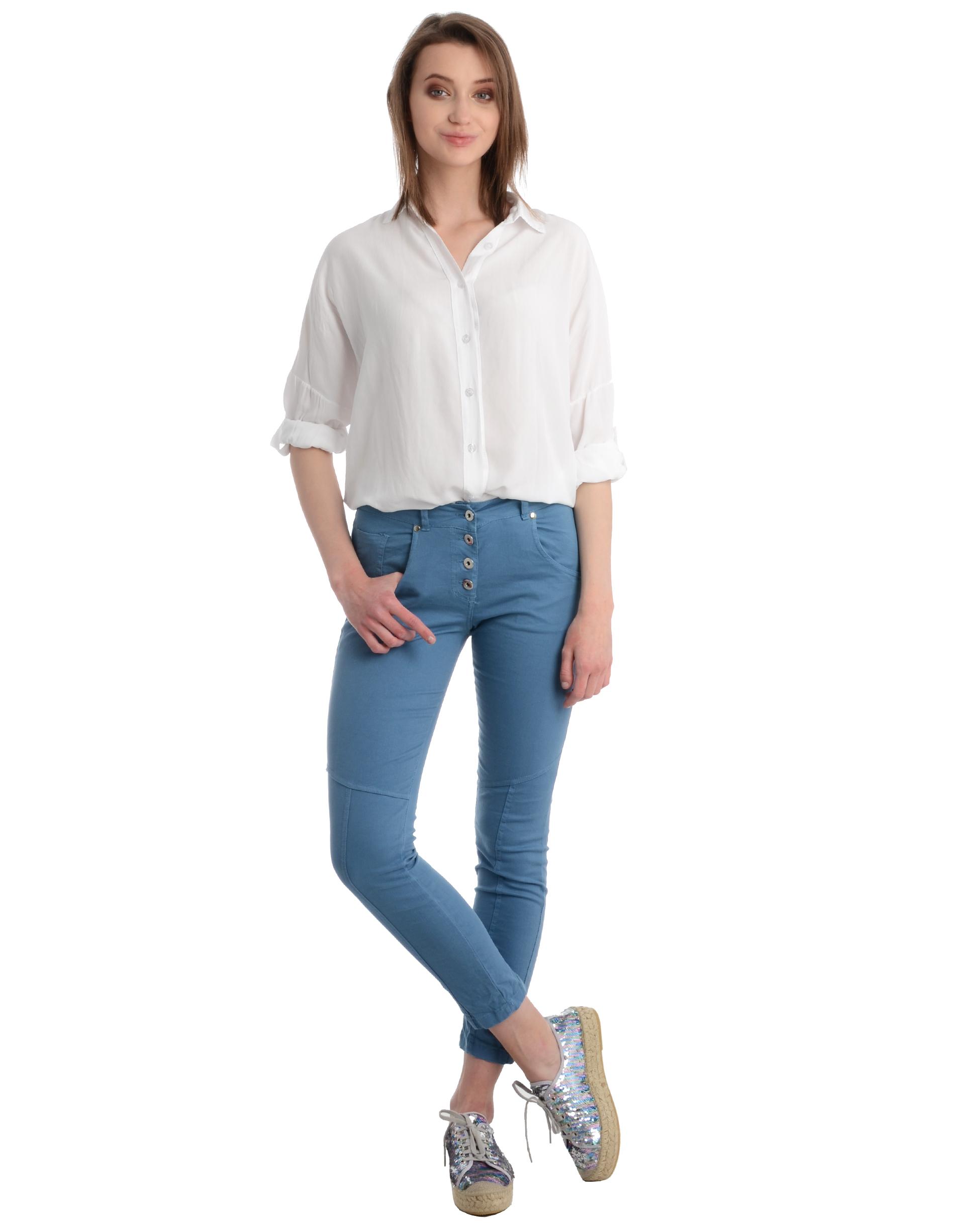 Spodnie - 34-4013 JEANS - Unisono