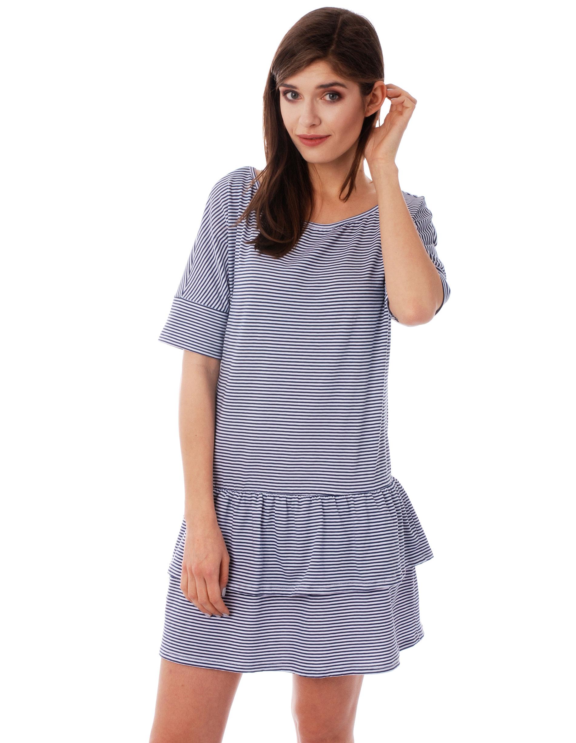 Sukienka - 96-11759P B-B - Unisono