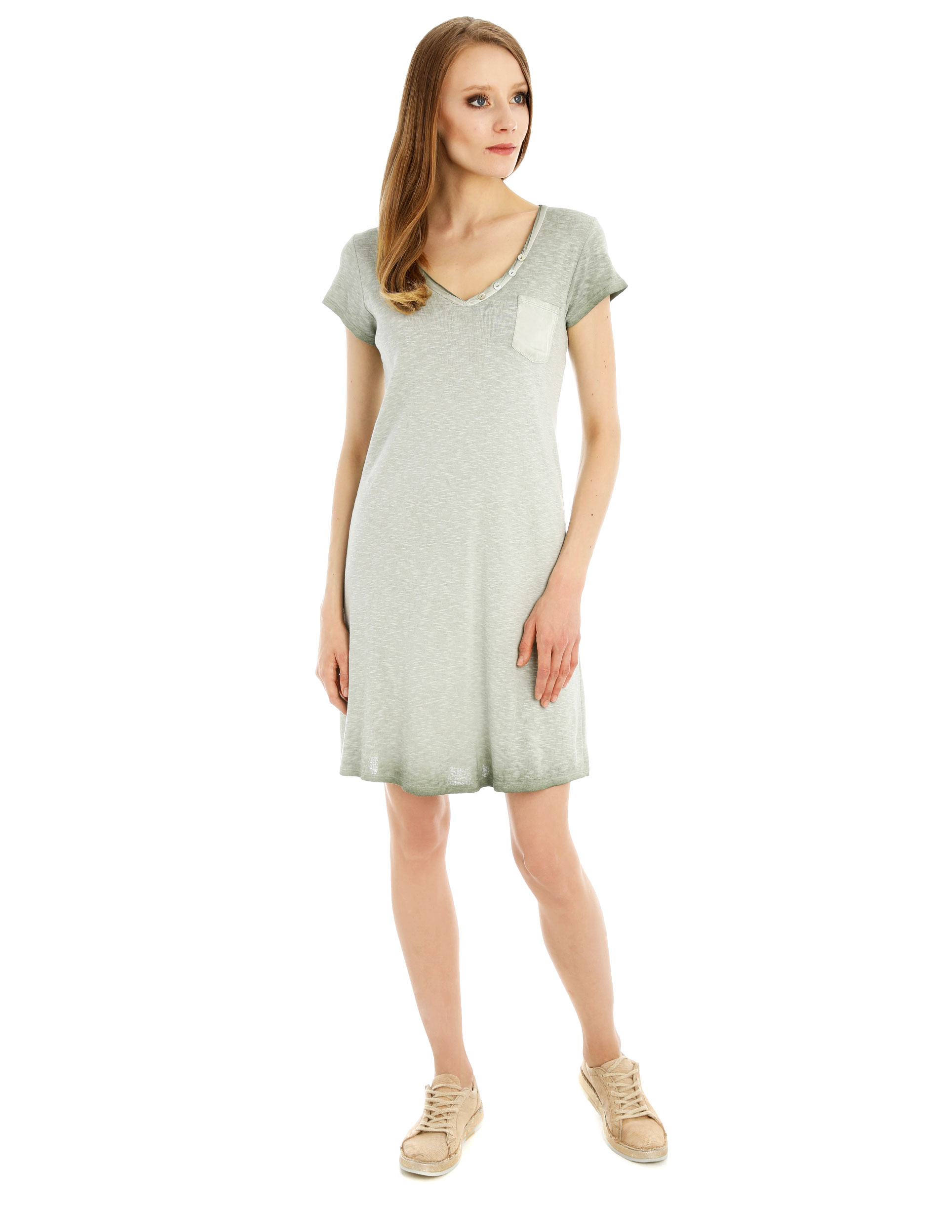 Sukienka - 45-1057 MILIT - Unisono