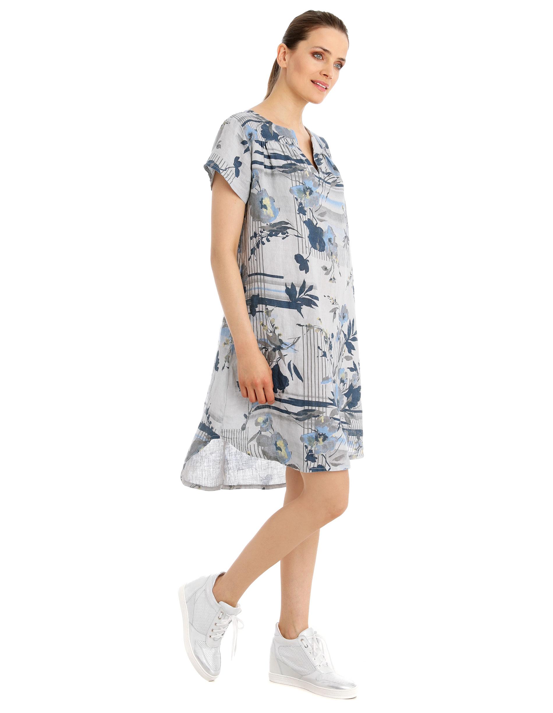 Sukienka - 16-3363 GR CH - Unisono