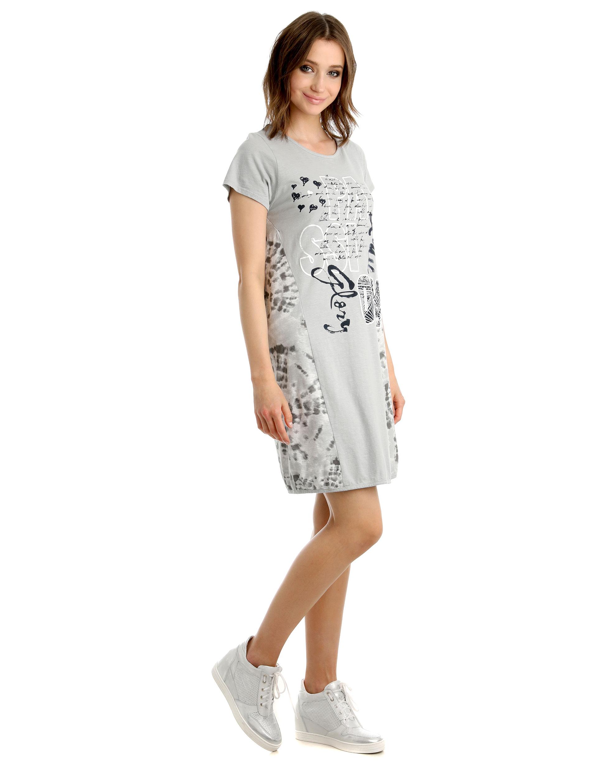 Sukienka - 85-7652 GRIGI - Unisono