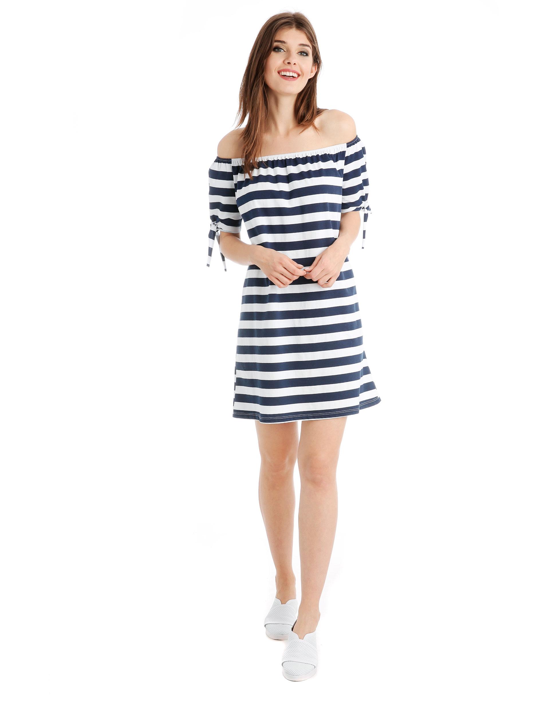 Sukienka - 22-2687 BL-BI - Unisono