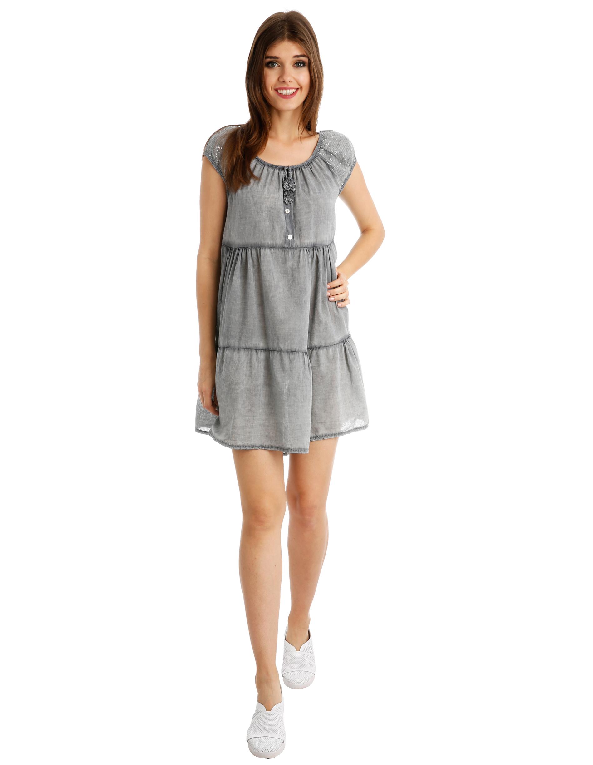 Sukienka - 106-7125 GRIG - Unisono