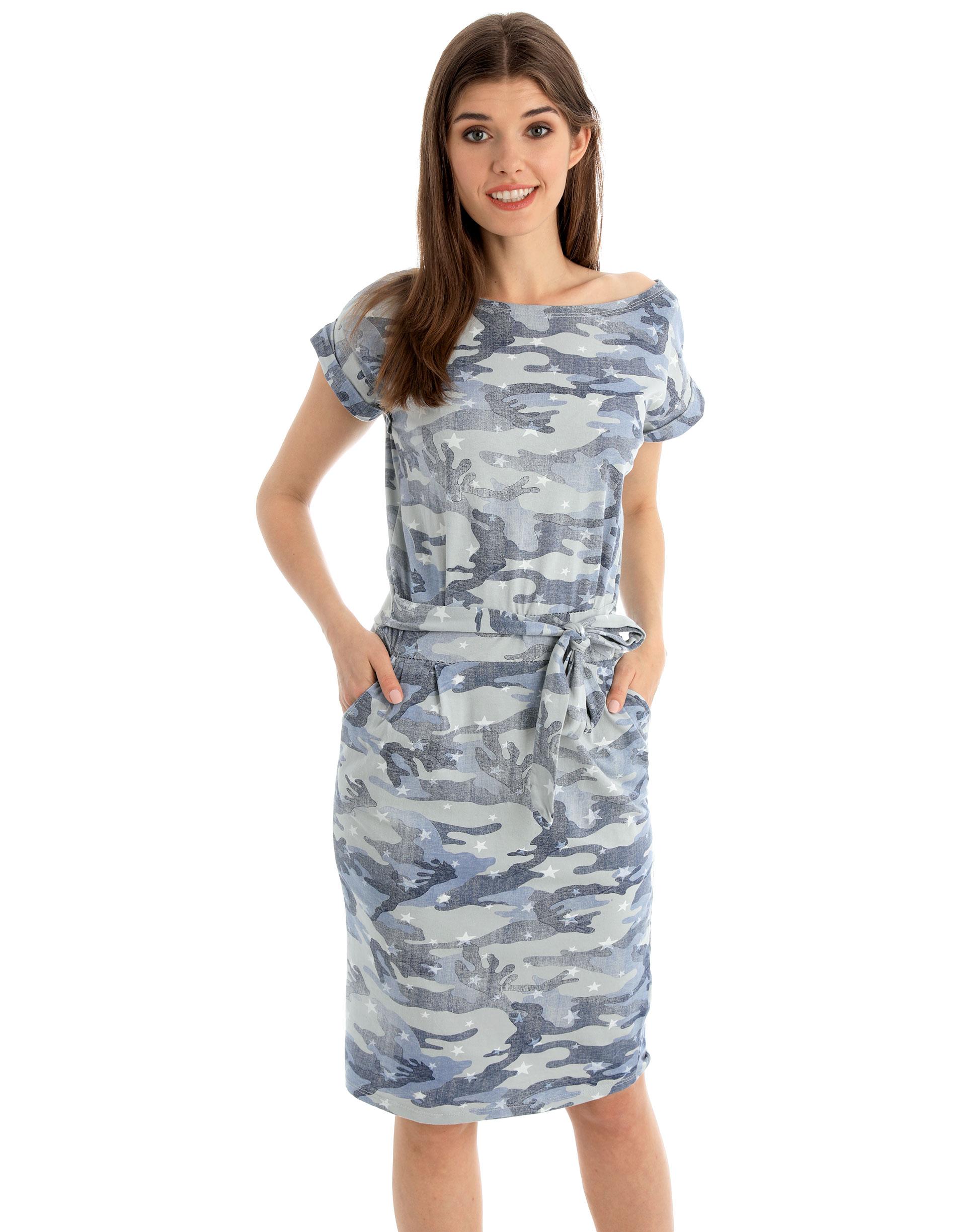 Sukienka - 141-1524 GRIG - Unisono
