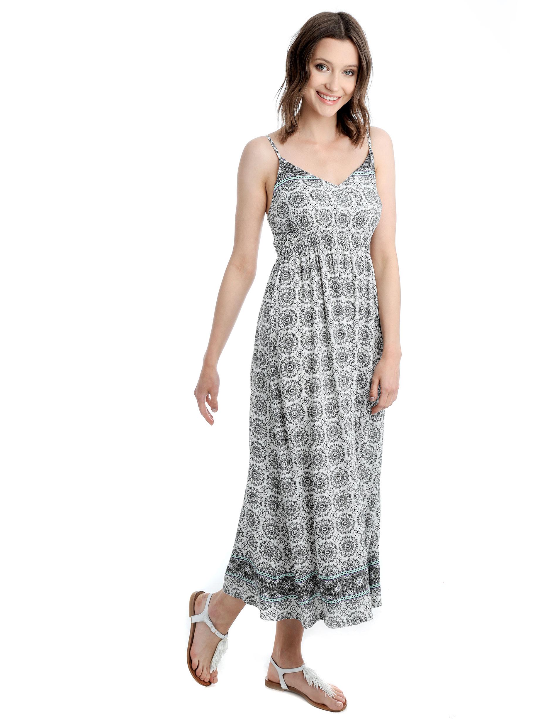 Sukienka - 91-1038 BIANC - Unisono