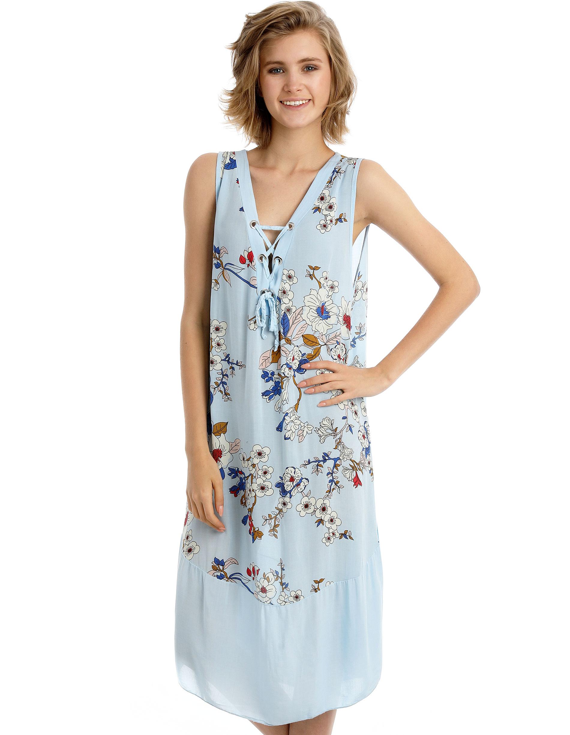 Sukienka - 15-2909 CIELO - Unisono