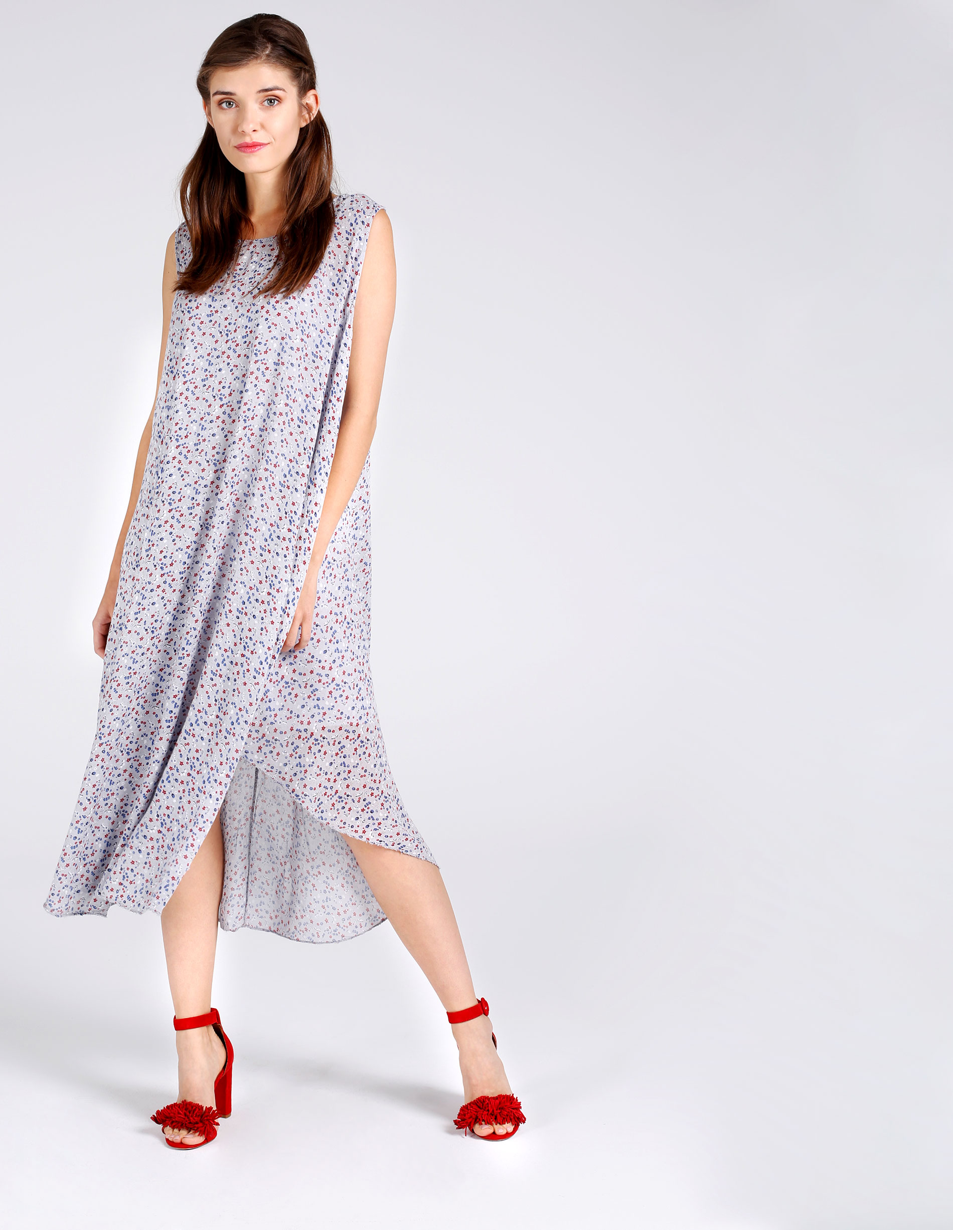 Sukienka - 32-1519C GRCH - Unisono