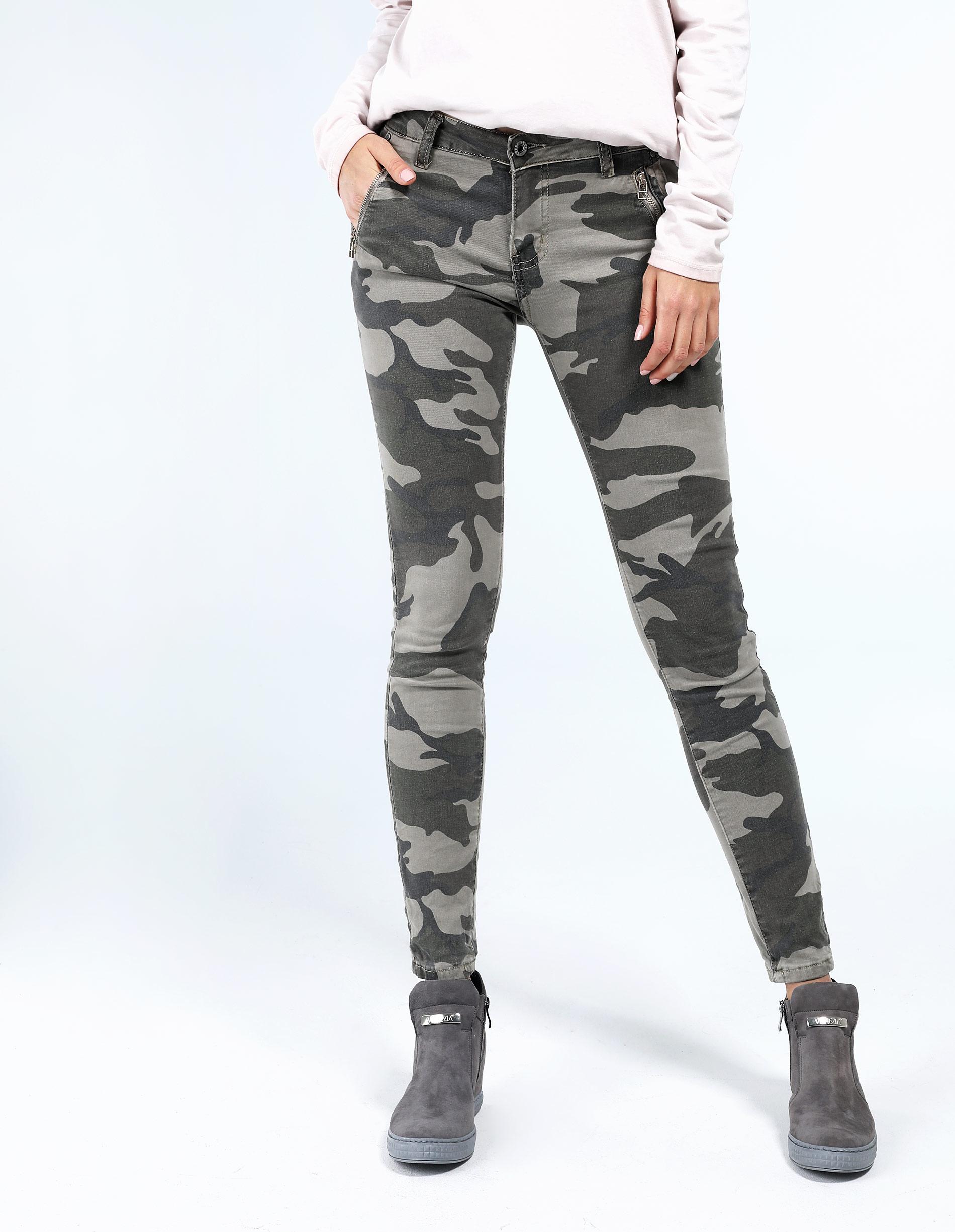 Spodnie - 154-9938 BEIG - Unisono