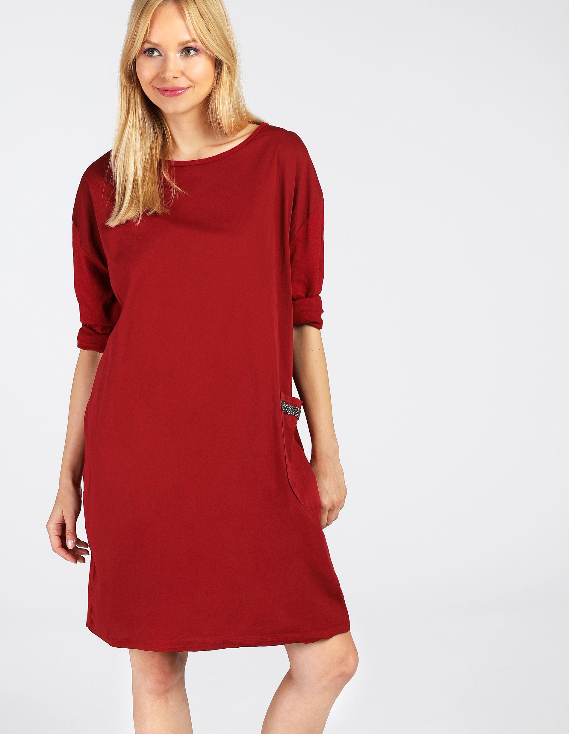 Sukienka - 63-007 ROS IN - Unisono