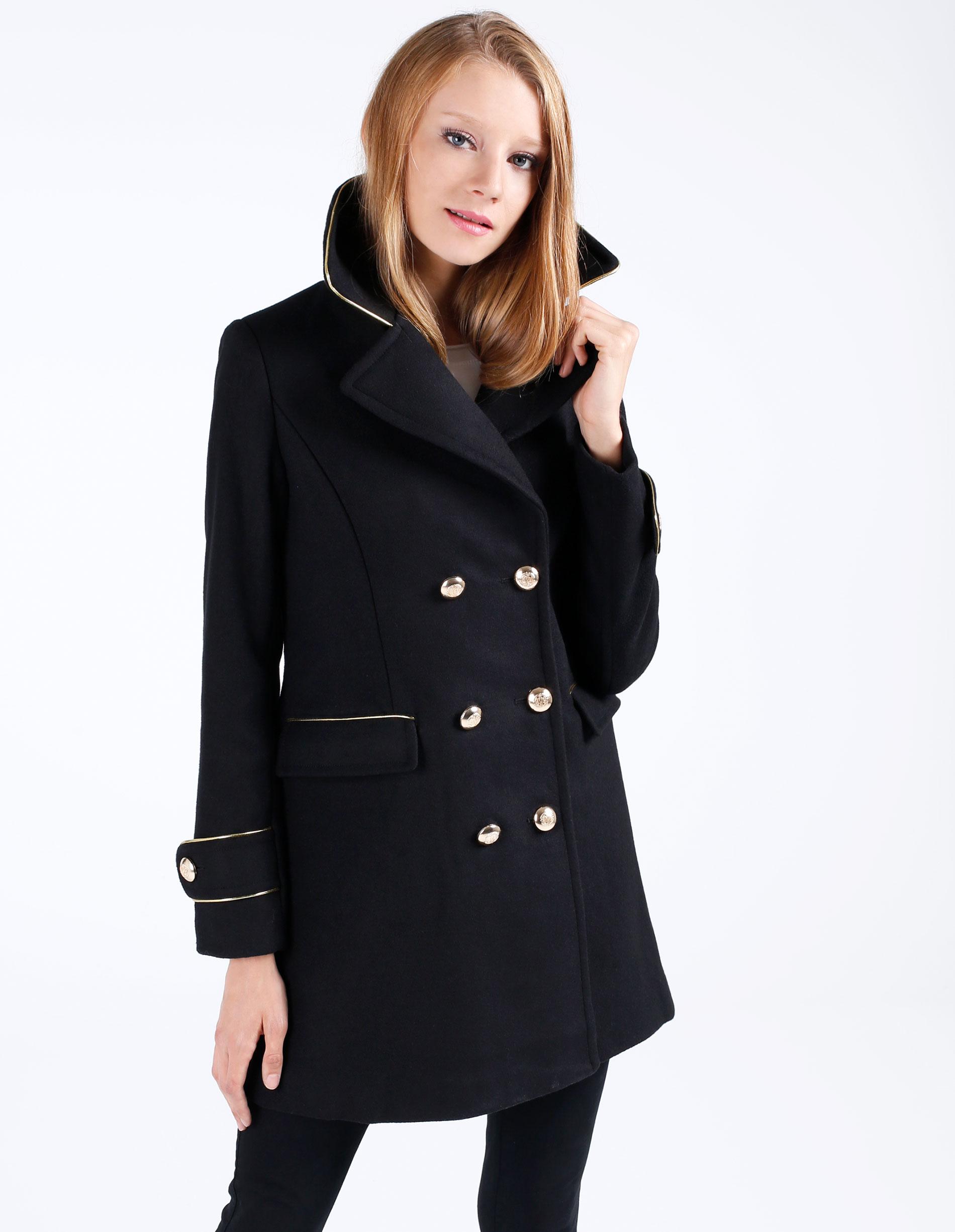 Płaszcz materiałowy - 122-77017 NER - Unisono
