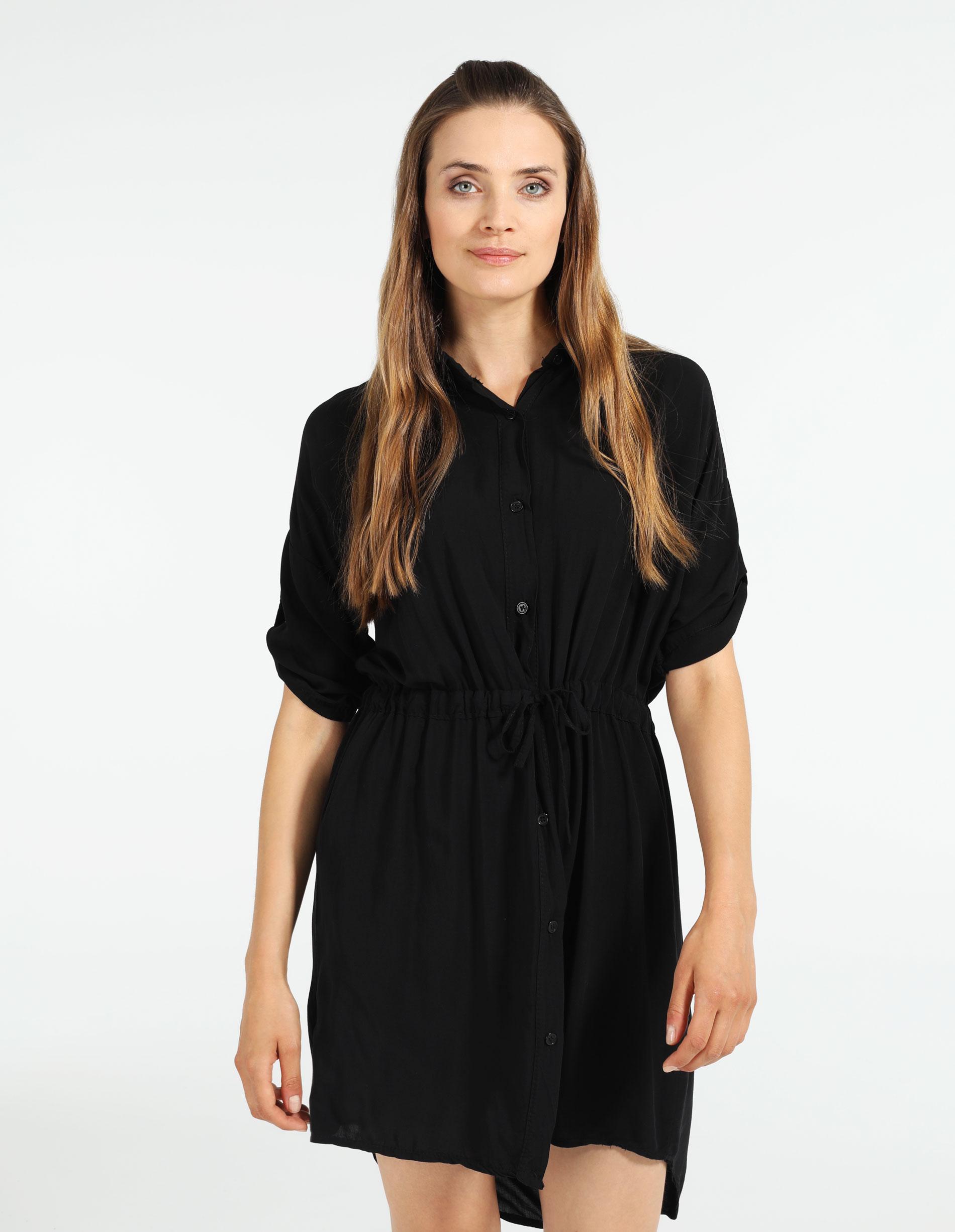 Sukienka - 45-626 NERO - Unisono