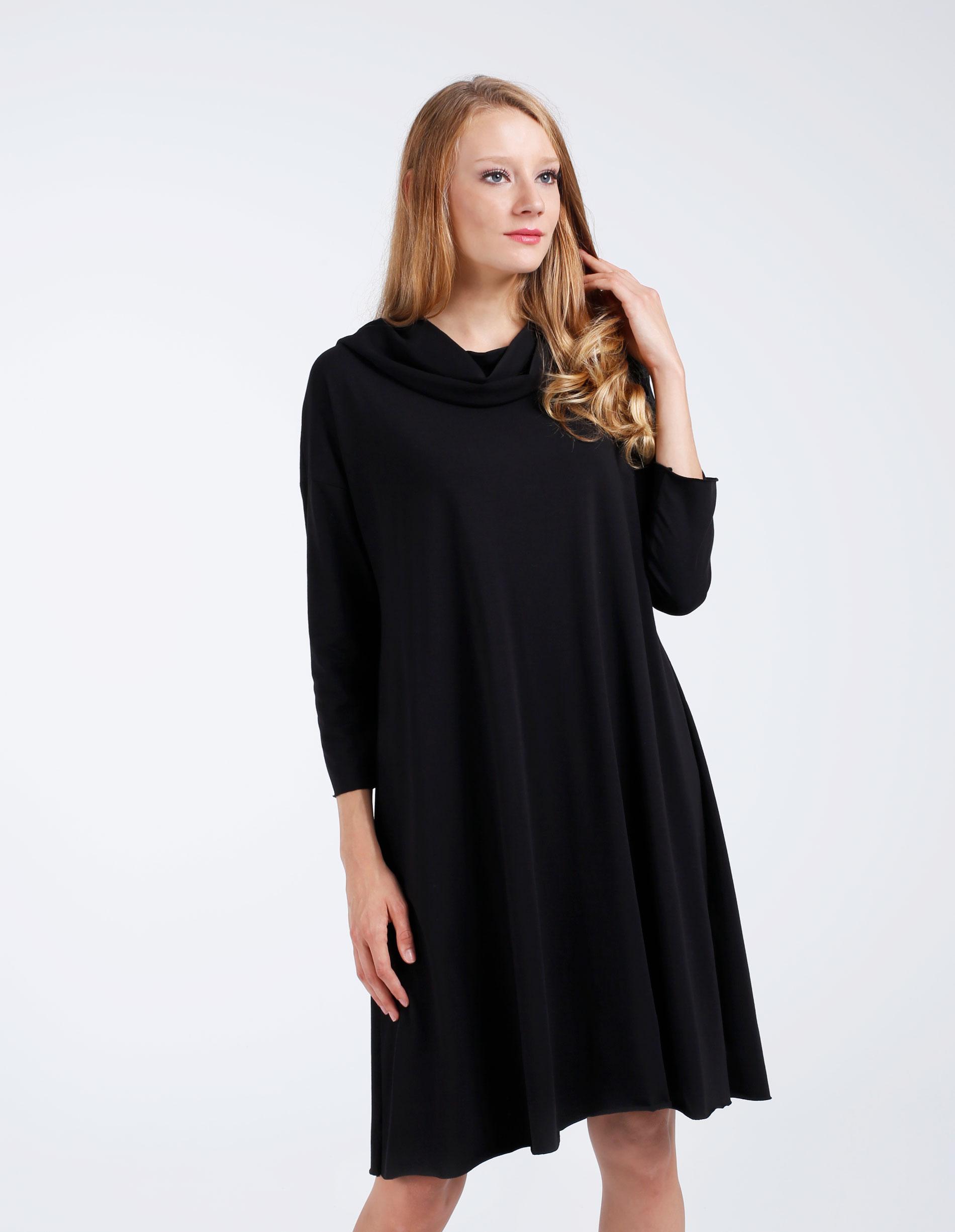 Sukienka - 30-87142 NERO - Unisono