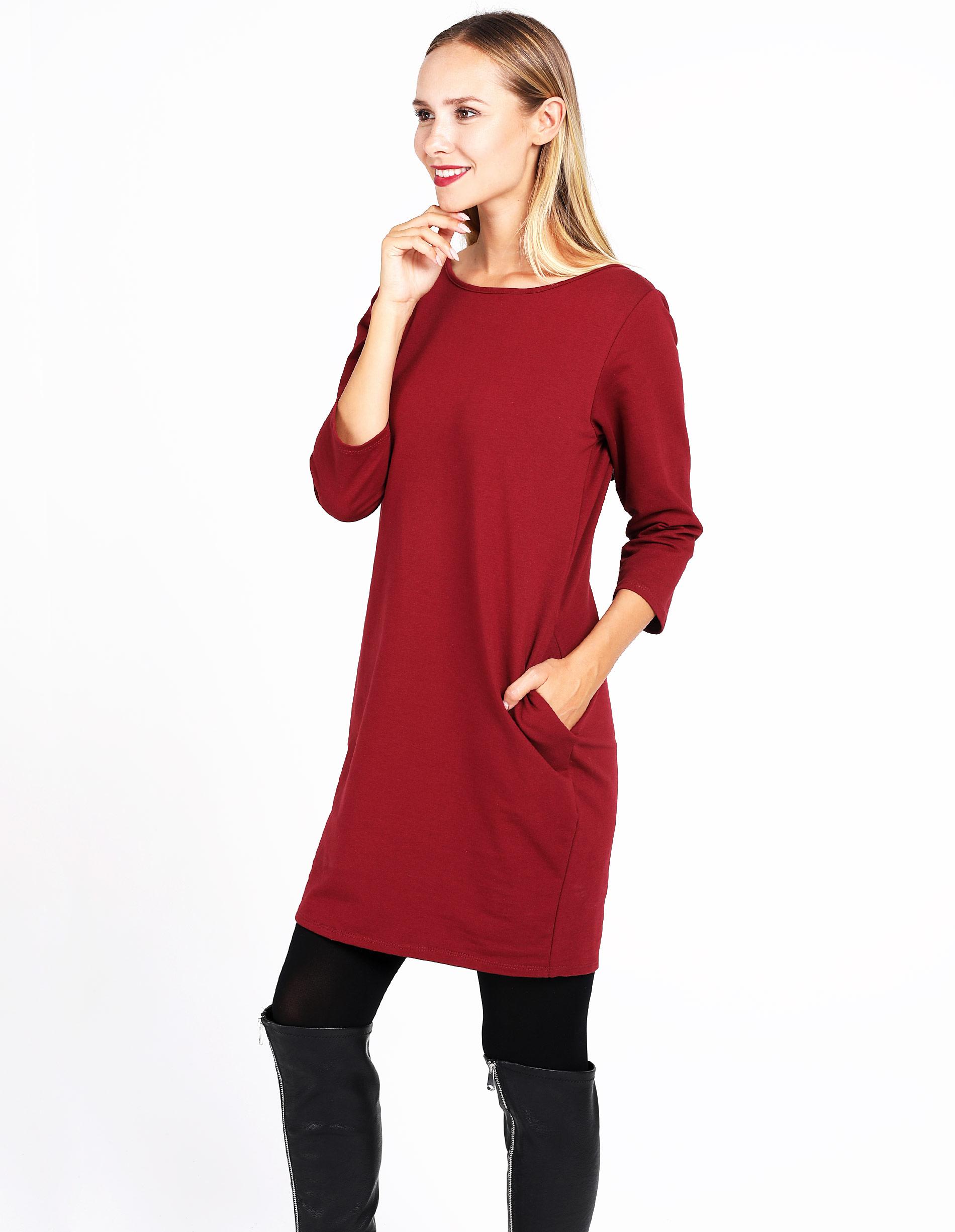Sukienka - 30-87130 BORD - Unisono