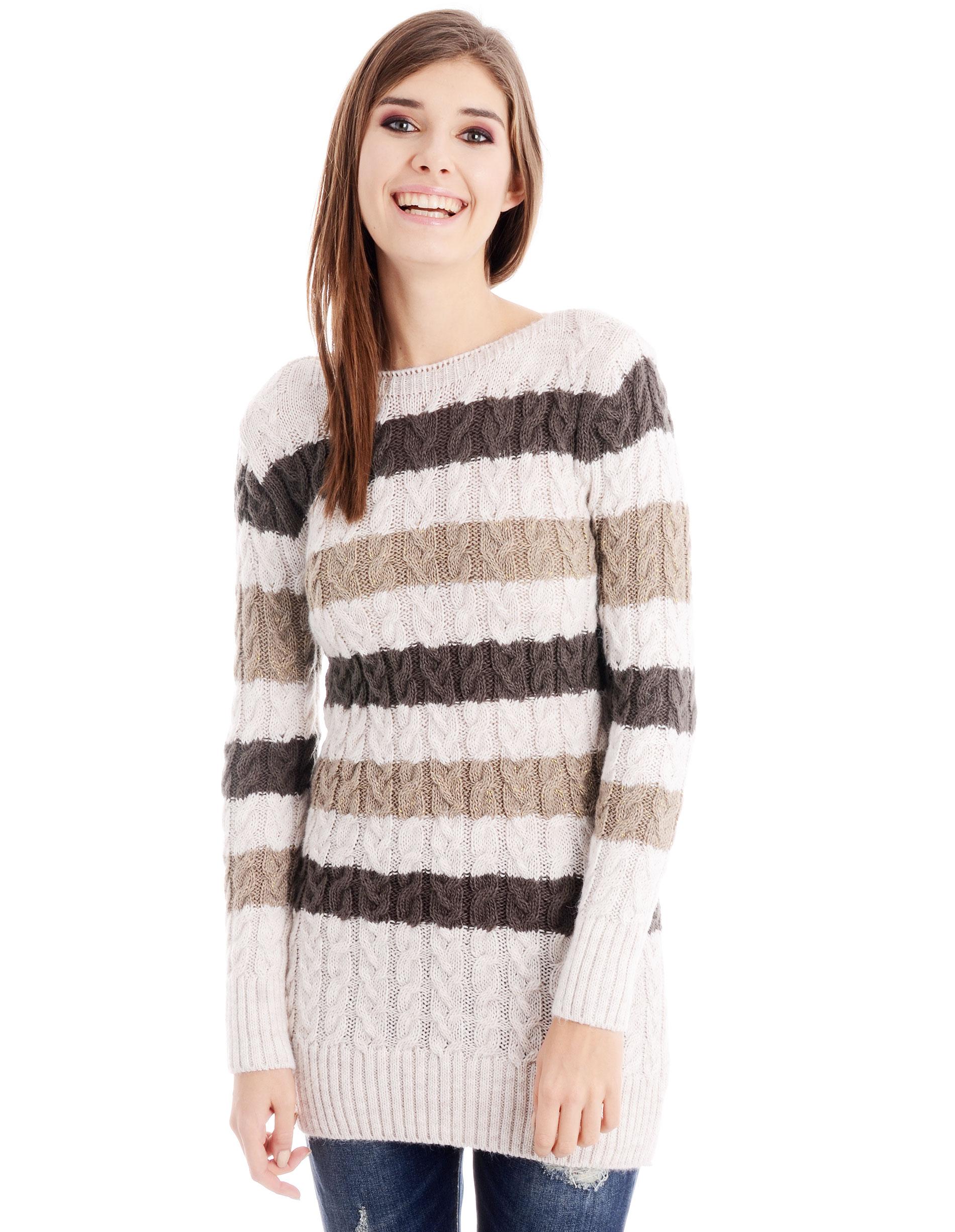 Sweter - 29-16601 BEIG - Unisono