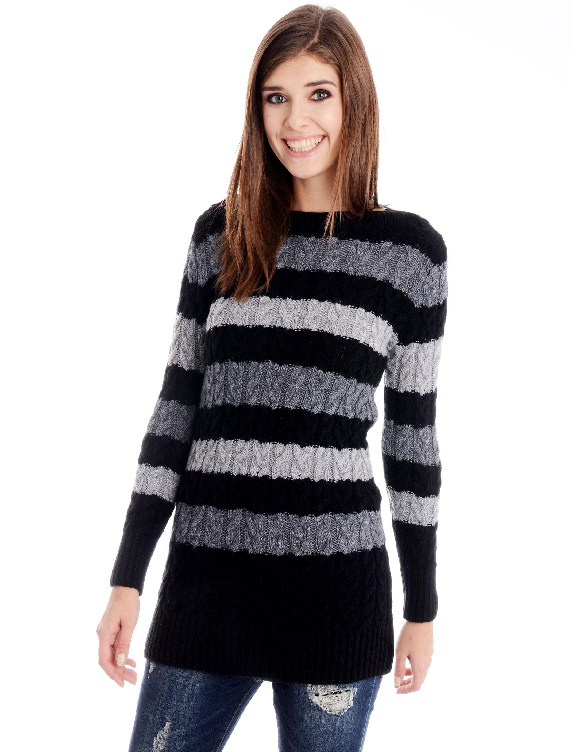 Sweter - 29-16601 NERO - Unisono
