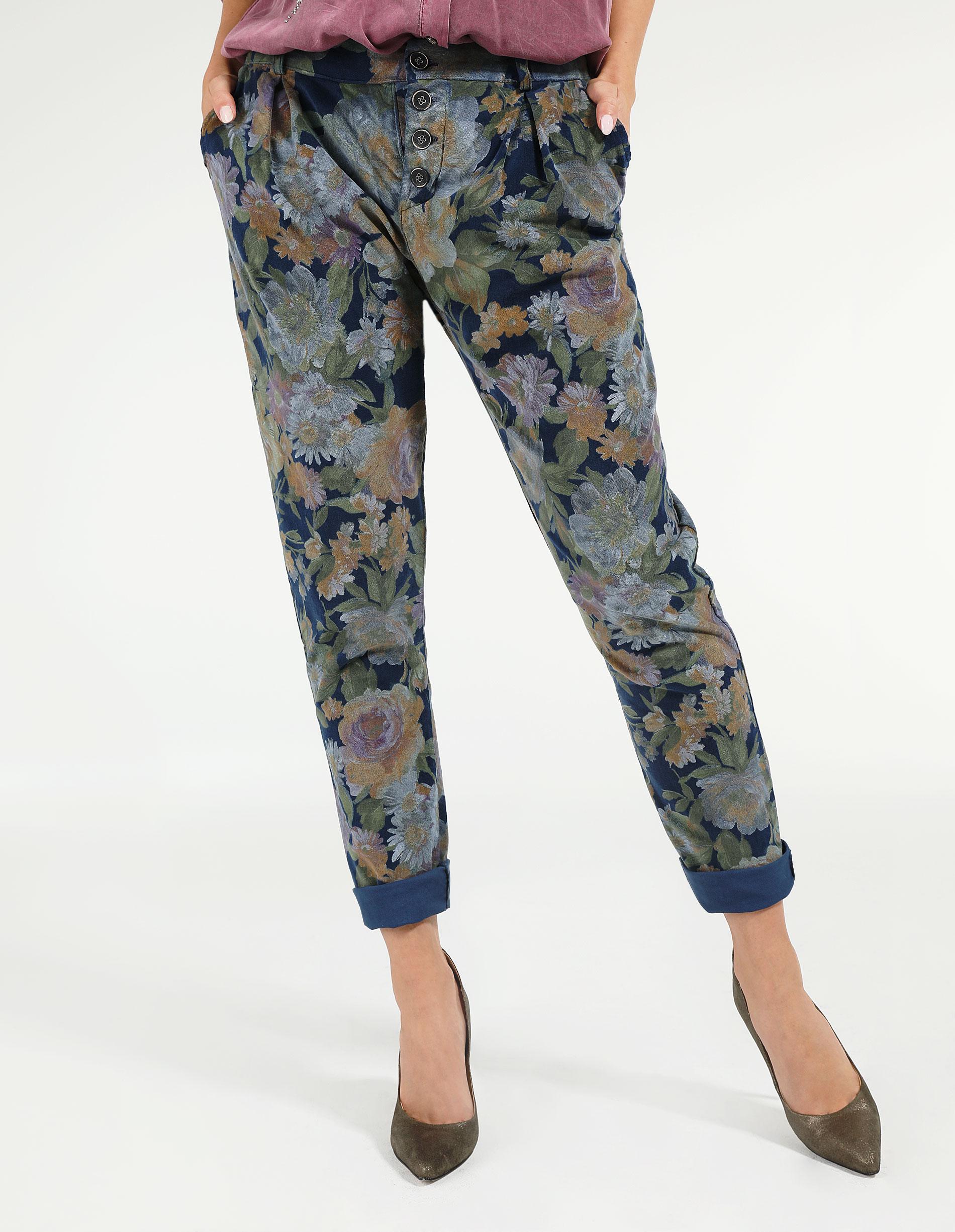 Spodnie - 169-2071-1 BL - Unisono