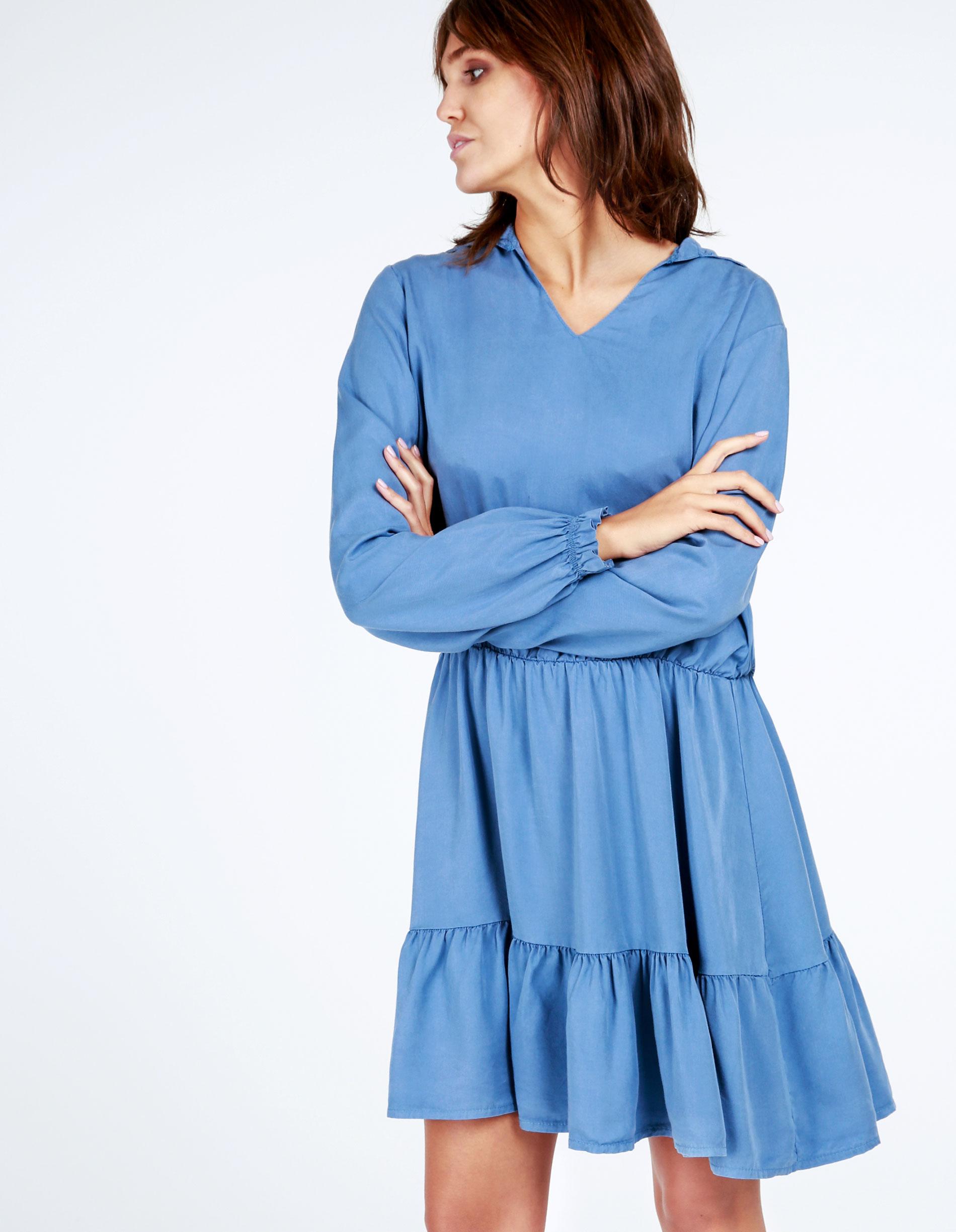 Sukienka - 138-4029 JEAN - Unisono