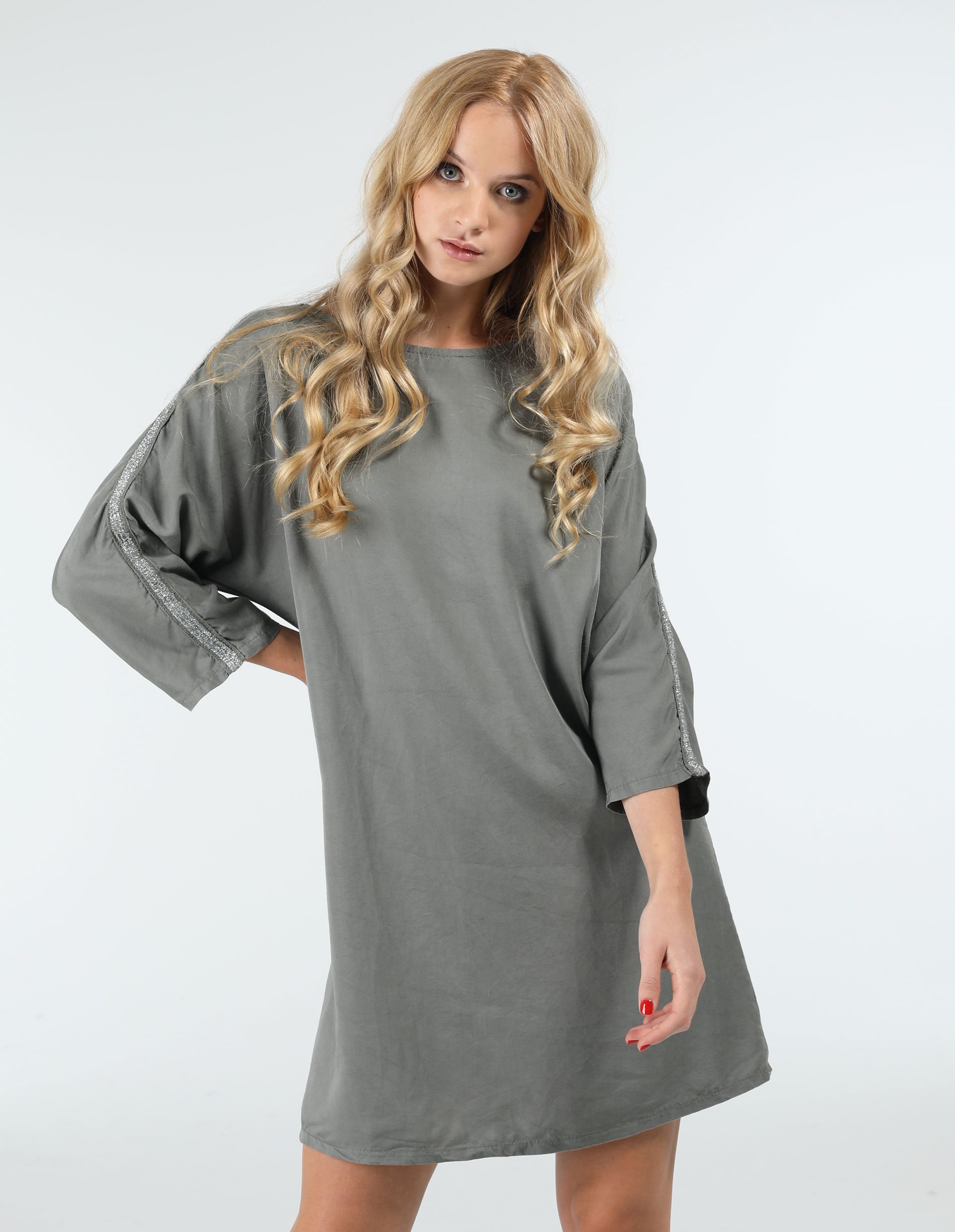 Sukienka - 25-9839 MILIT - Unisono