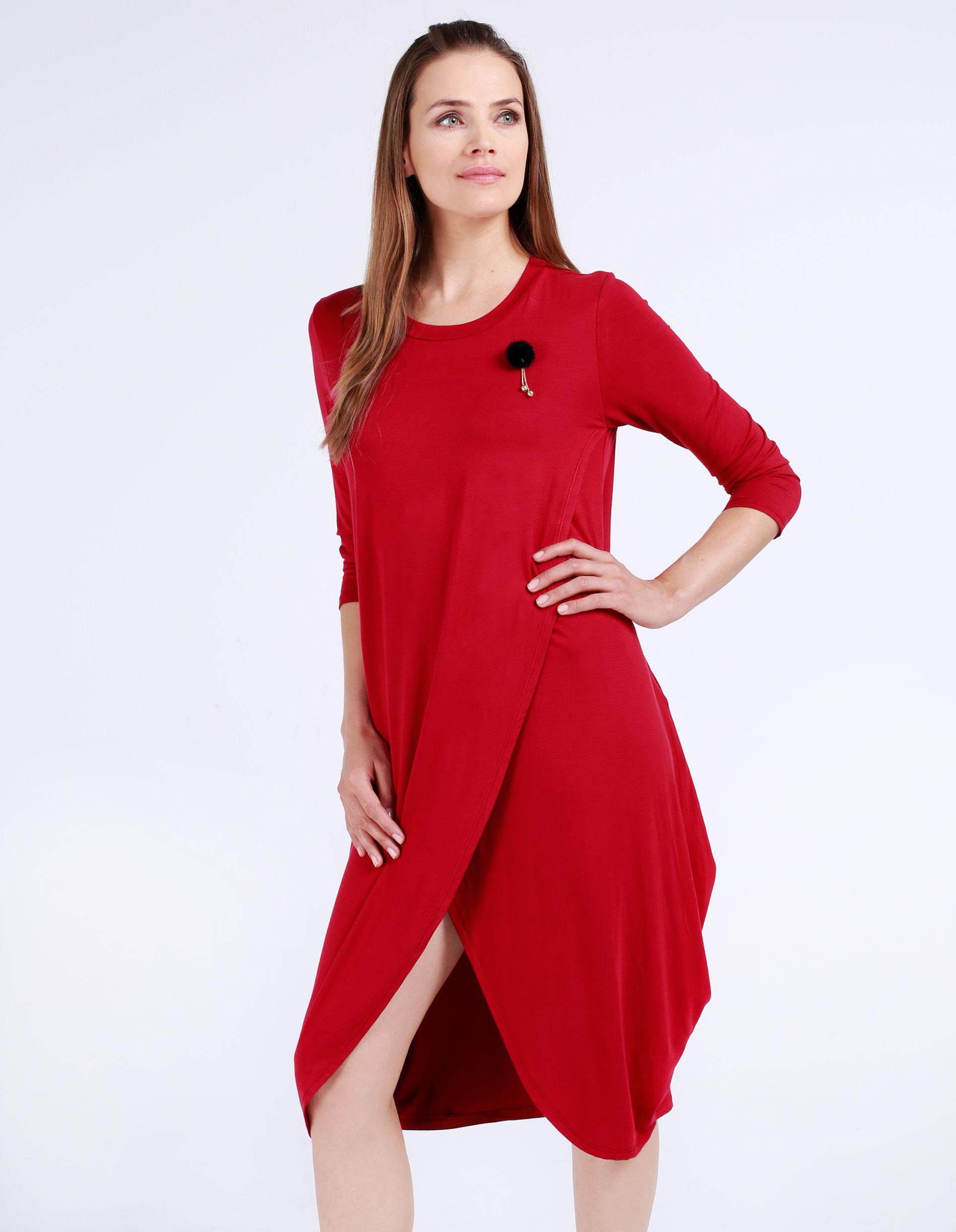 Sukienka - 30-87179 ROSS - Unisono