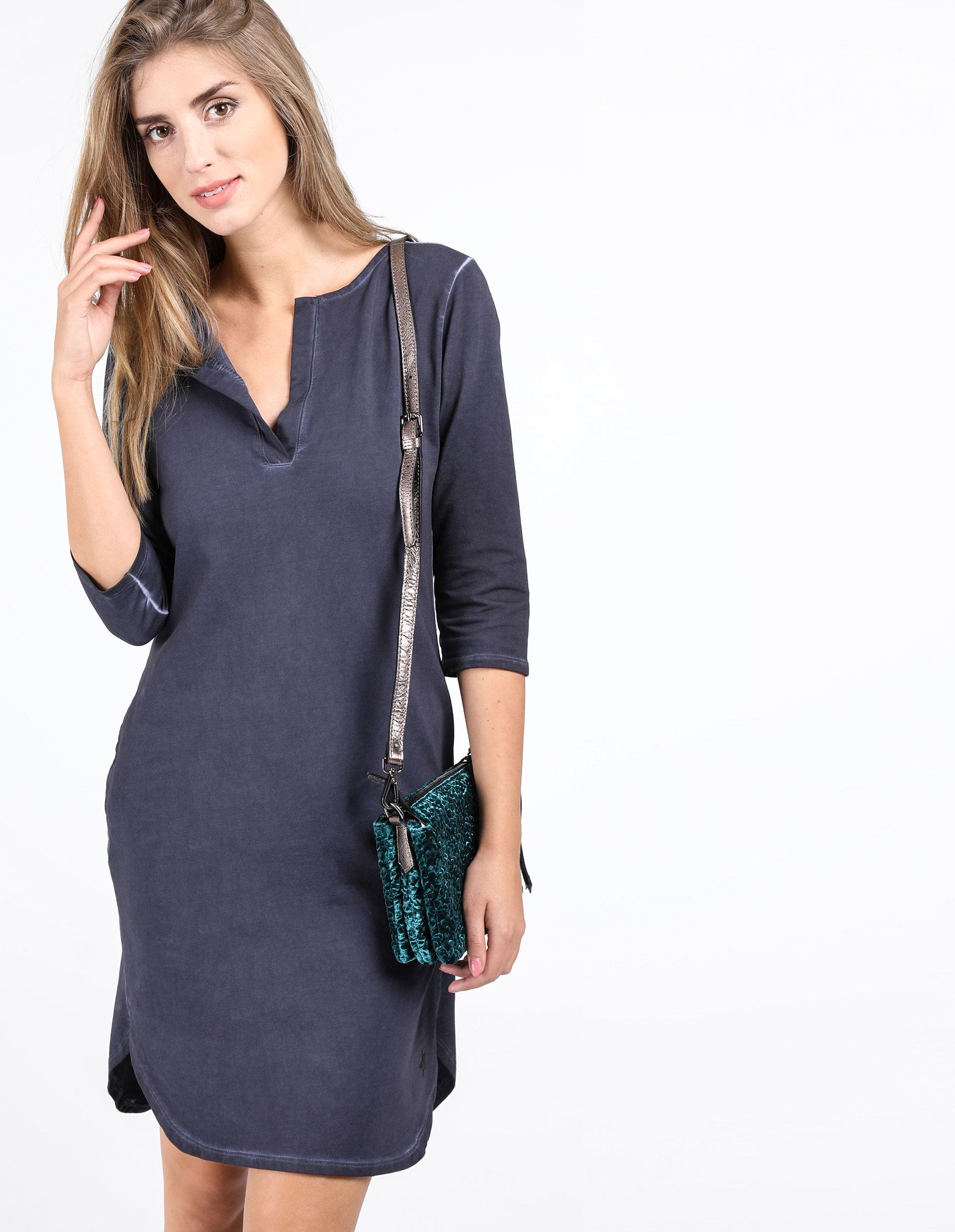 Sukienka - 30-87079 BLU - Unisono