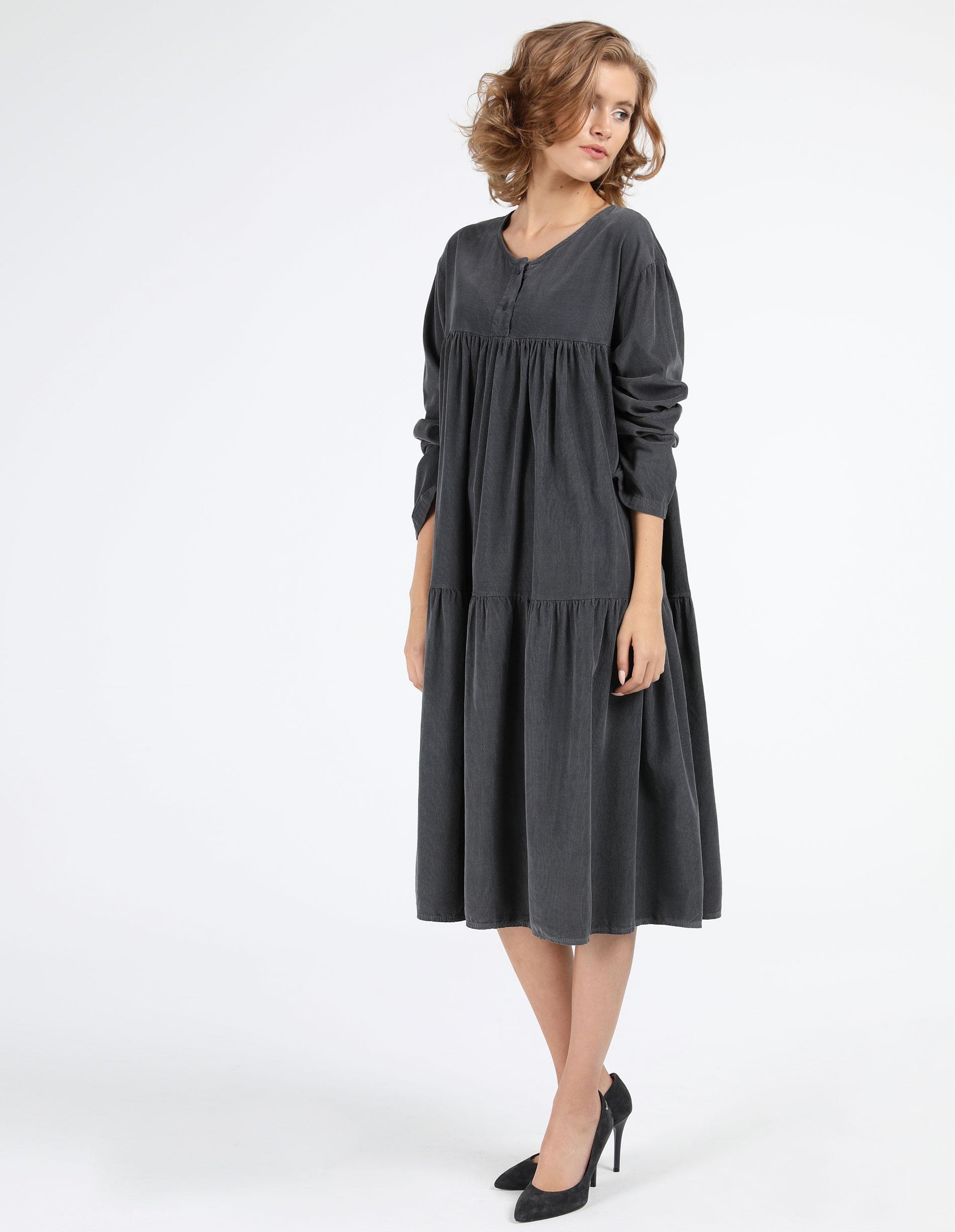 Sukienka - 4-4058 PIOMBO - Unisono