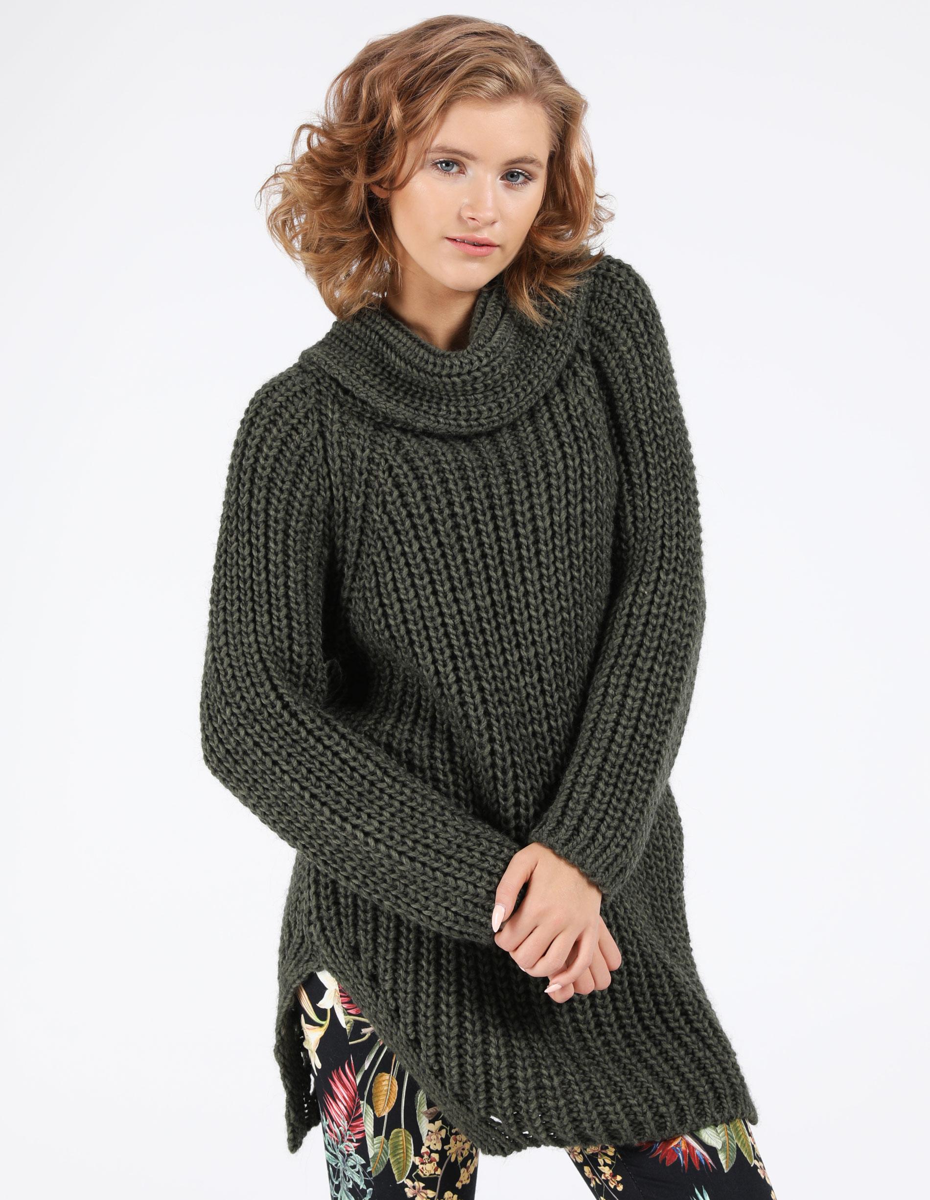 Sweter - 21-3097 MILIT - Unisono