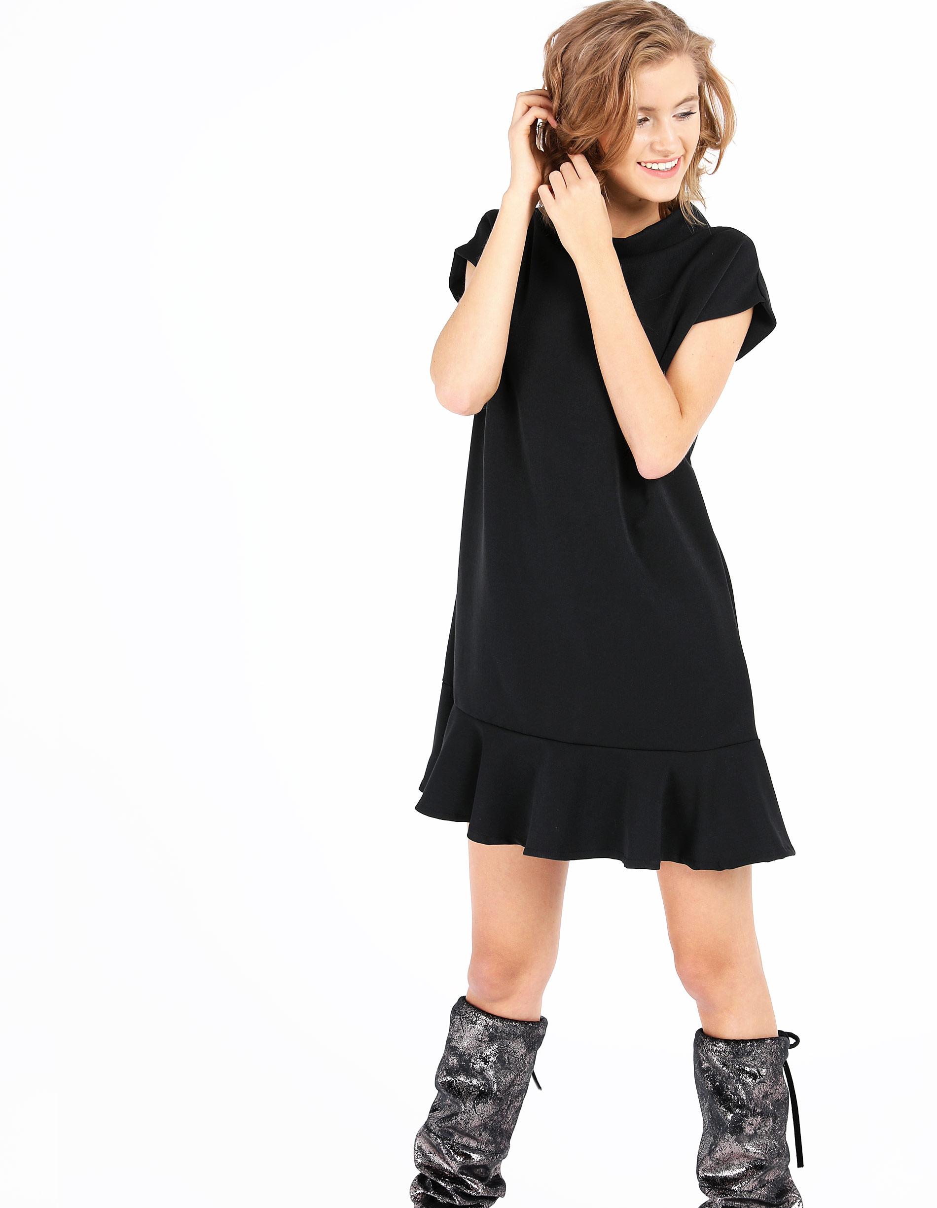 Sukienka - 59-80173 NERO - Unisono