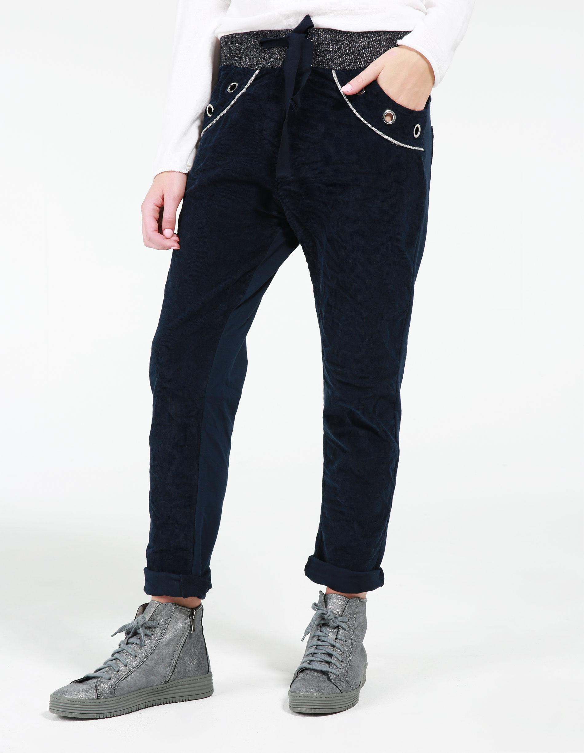 Spodnie - 164-6077 BLU - Unisono