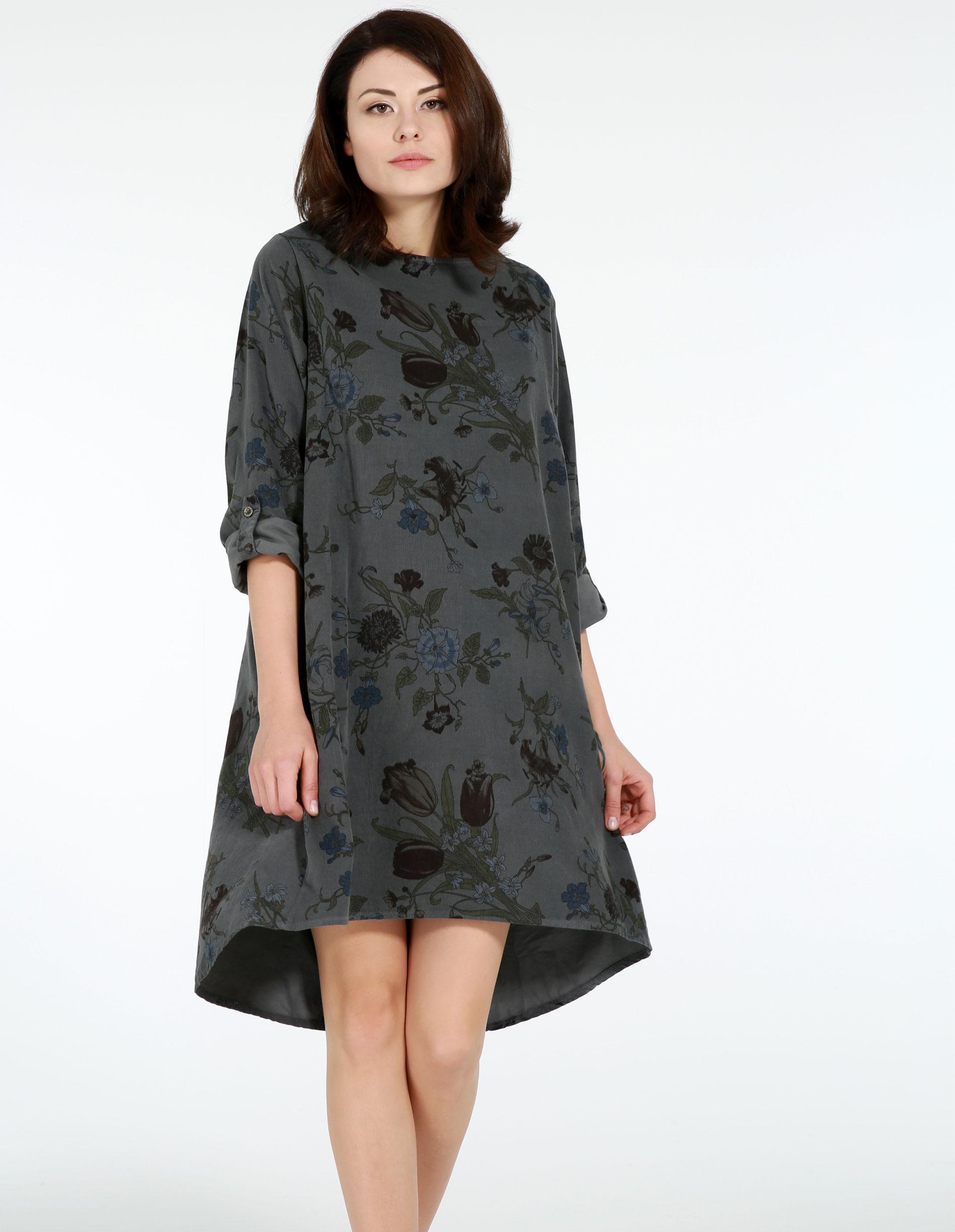 Sukienka - 4-4125 PIOMBO - Unisono