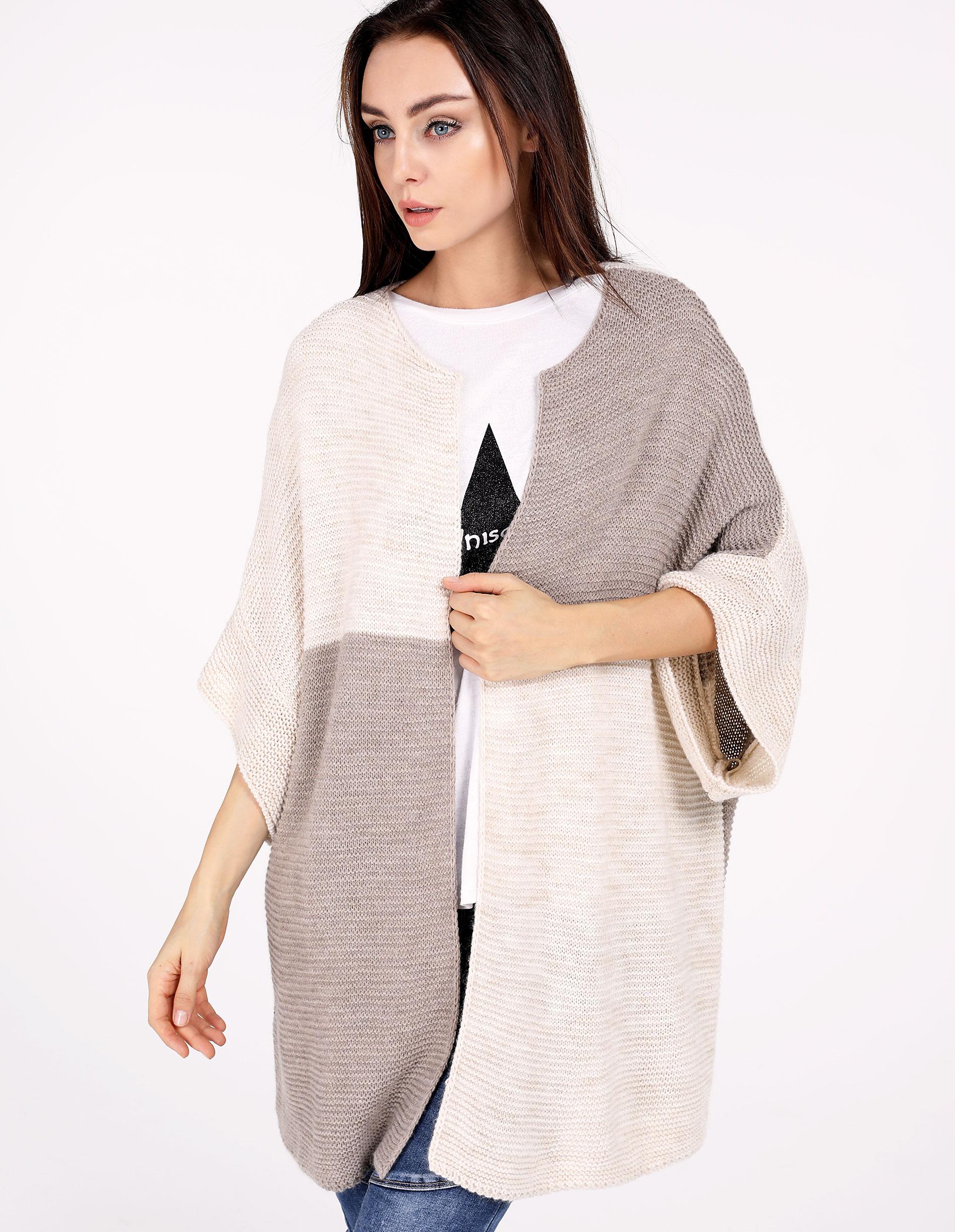 Sweter - 4-6070 BEI CH - Unisono
