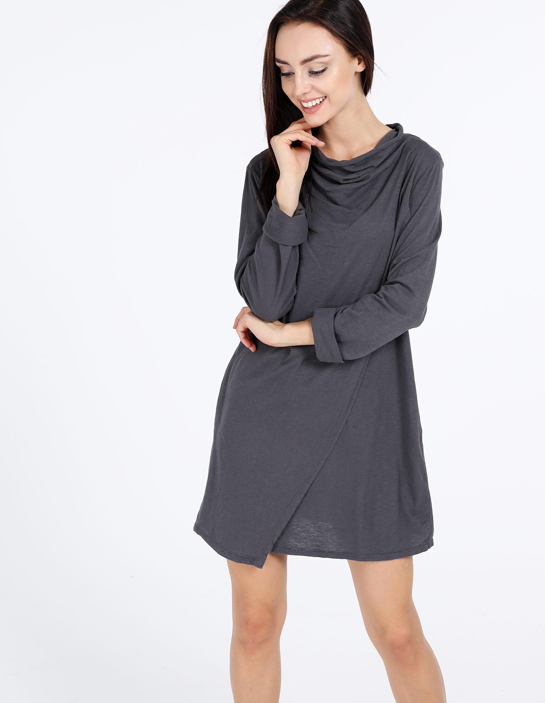 Sukienka - 17-0155 PIOMB - Unisono