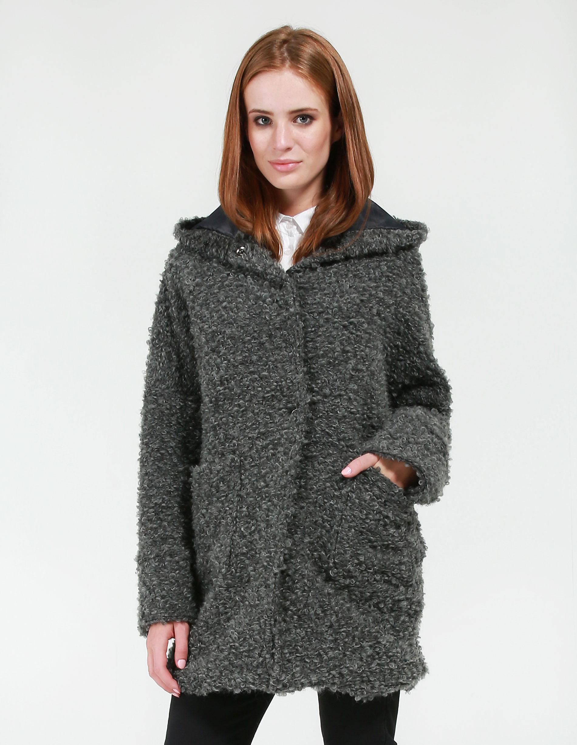 Płaszcz materiałowy - 175-6013 GRSC - Unisono